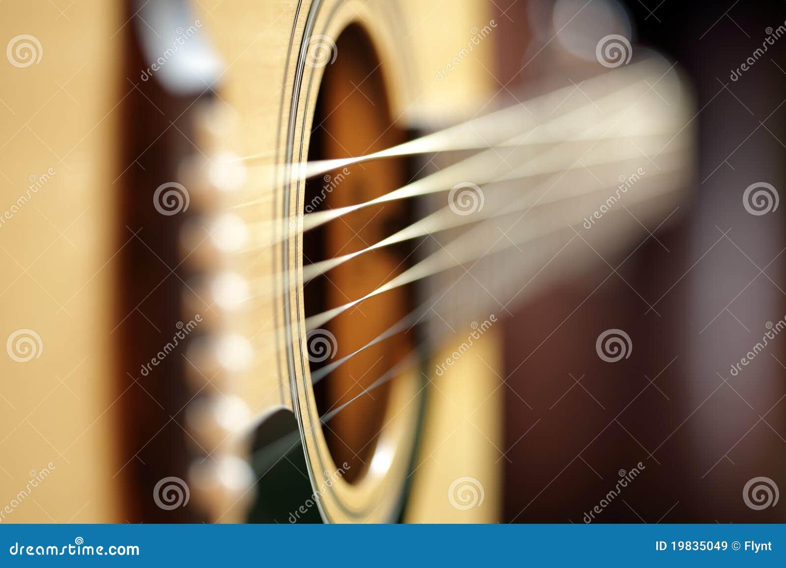 Abstrakcjonistyczna gitara akustyczna