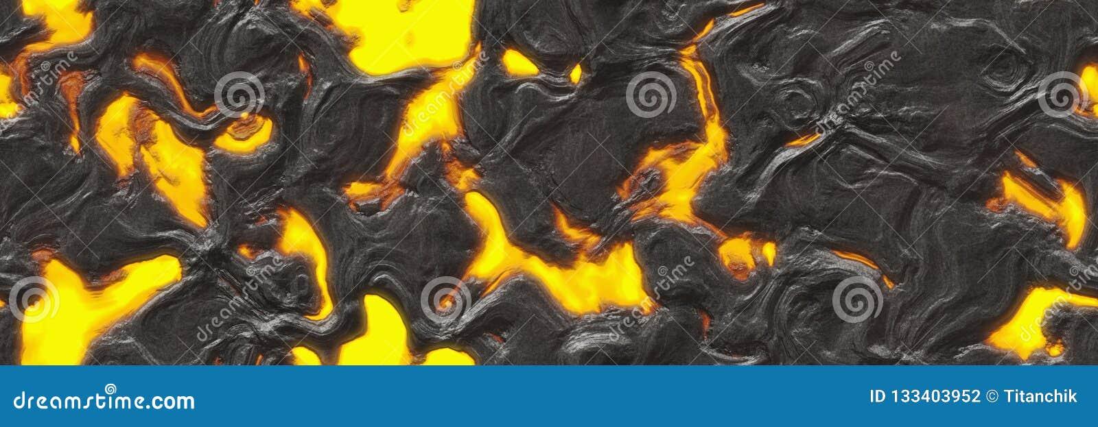 Abstrakcjonistyczna lawa textured Niszczy stopionego natura wzór