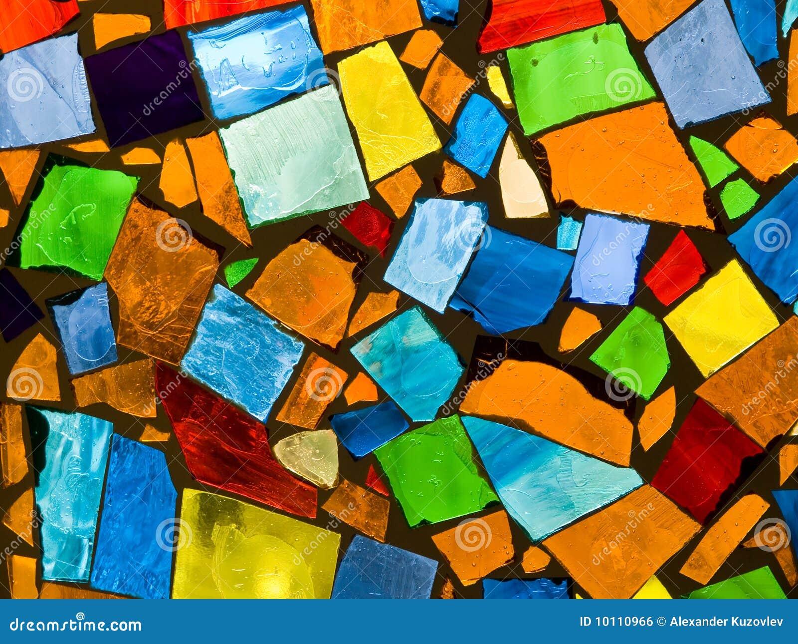 Abstrakcjonistyczna mozaika
