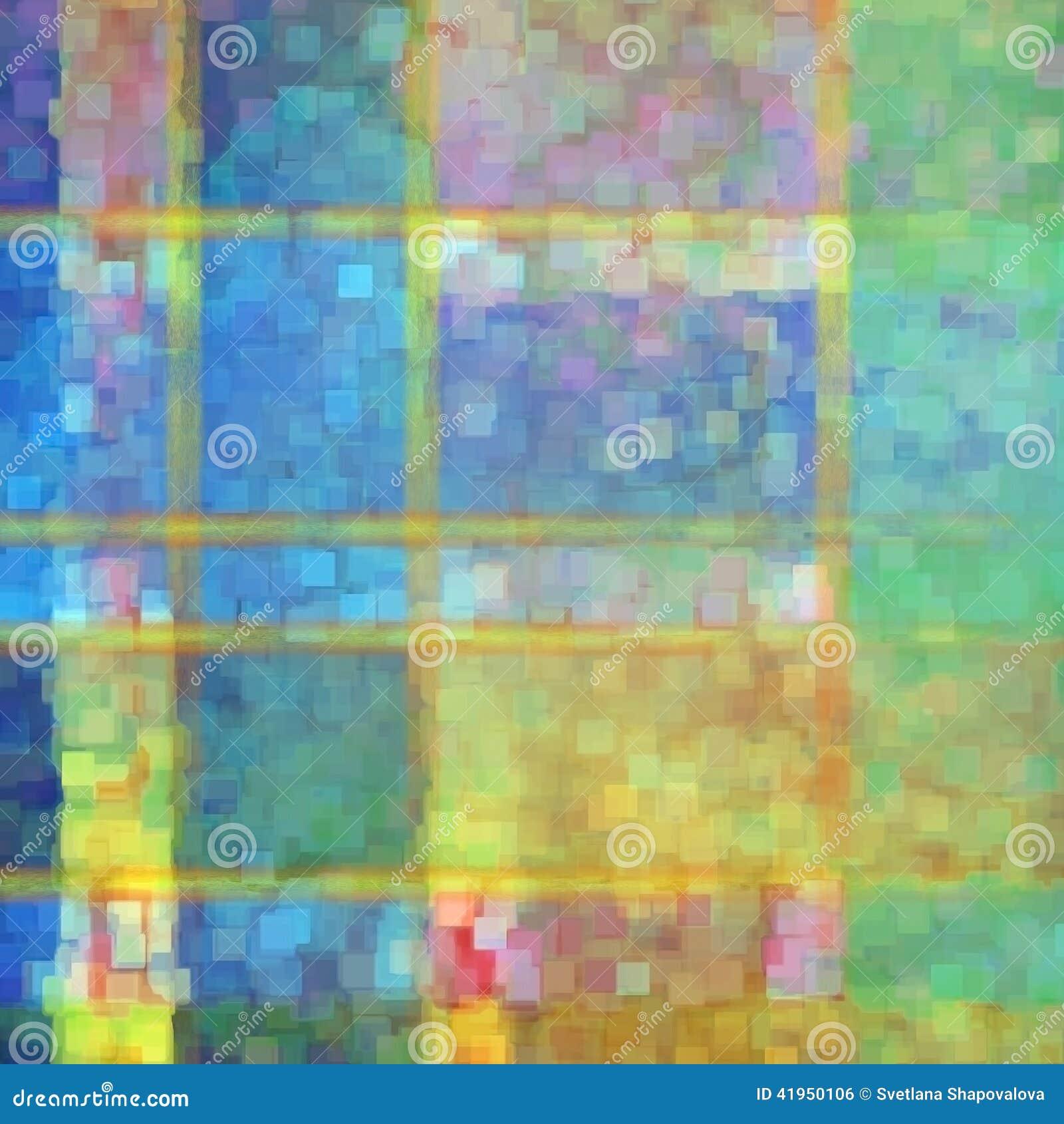 Abstrakcjonistyczna pstrobarwna powierzchnia
