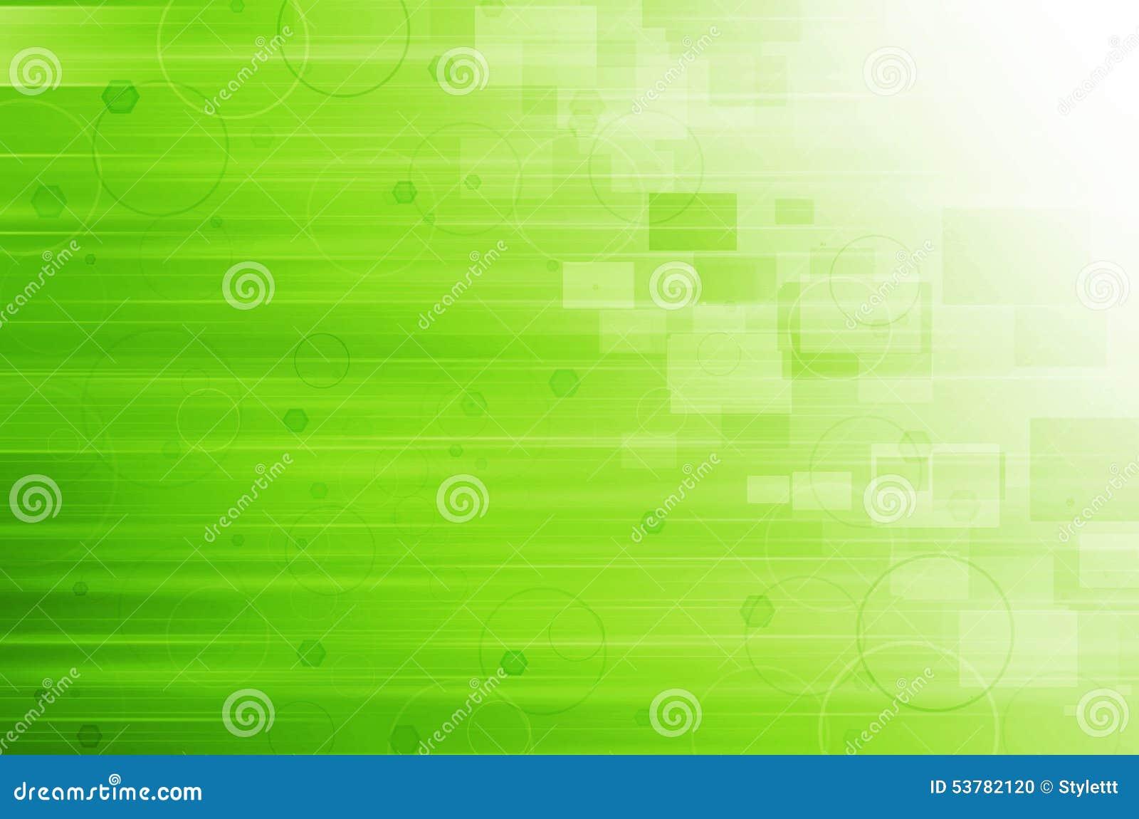 Abstrakcjonistyczna tła kopii zieleni technologii kosmicznej tapeta