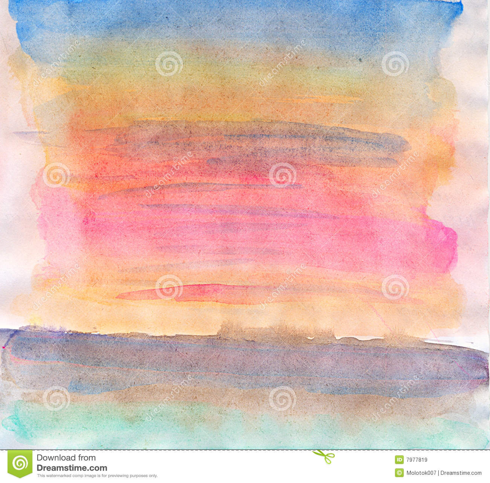 Abstrakcjonistyczna tła papieru tekstury akwarela