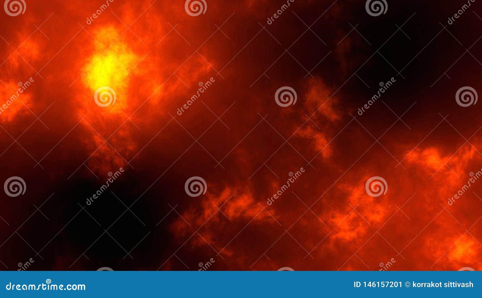 Abstrakcjonistyczne Złociste błyskotliwości bokeh cząsteczki, pożarniczy tło 3d odpłacają się