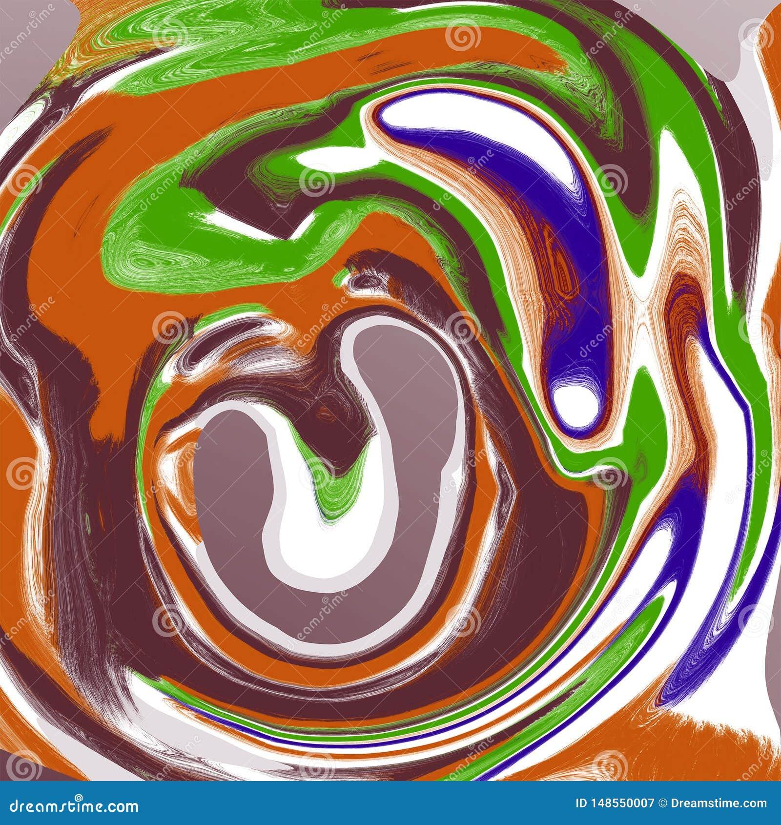 Abstrakcjonistycznego ciecza marmuru ch?odno t?o