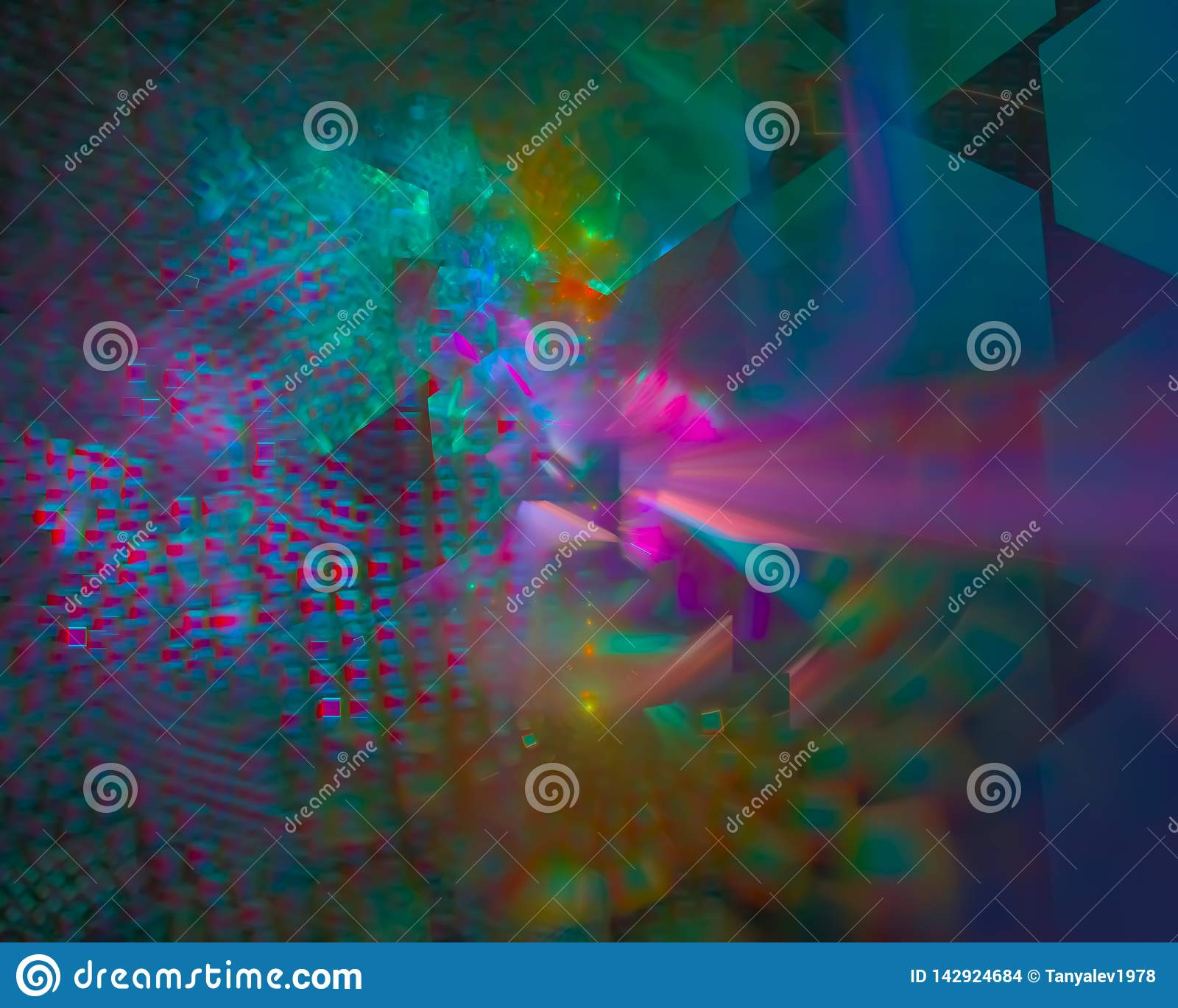 Abstrakcjonistycznego fractal płomienia błyszczący miękki kędzior kreatywnie, szablon artystyczny, elegancja, dynamiczna