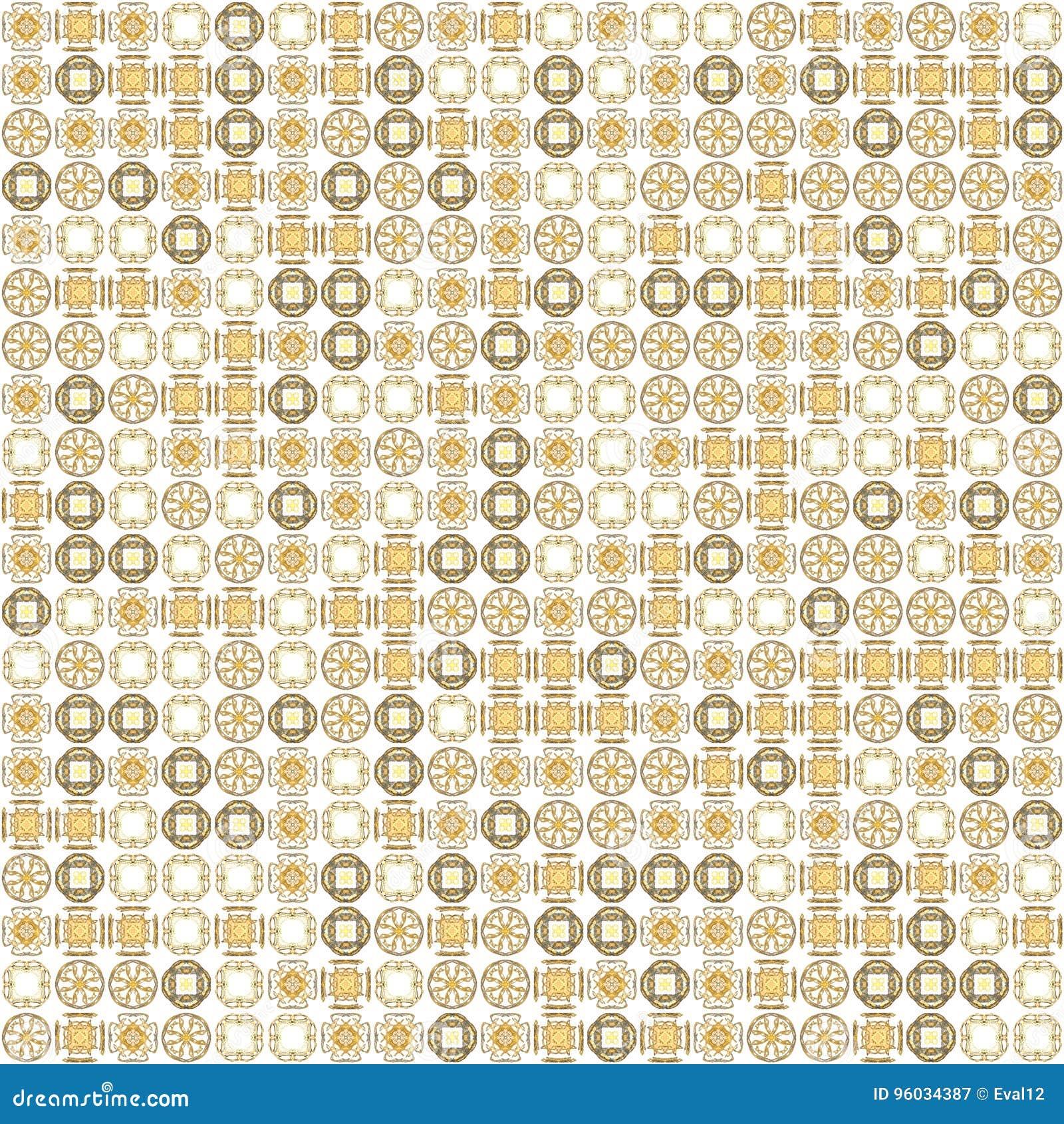 Abstrakcjonistycznego grunge tekstury fractal pomarańczowi wzory