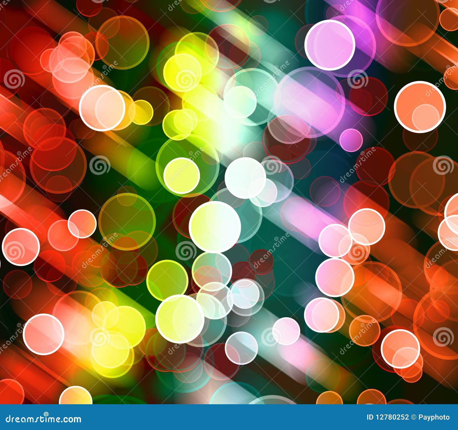 Abstrakcjonistycznego tła kolorowy światło
