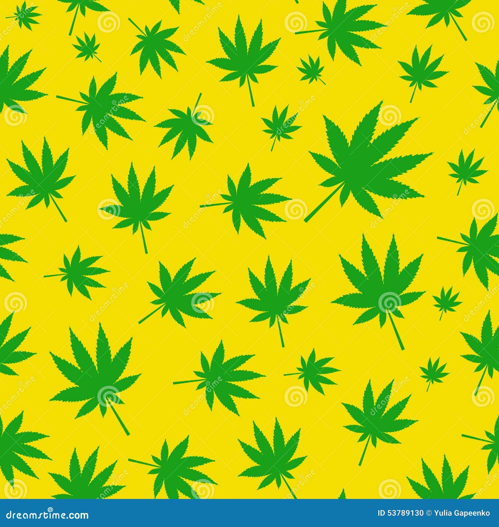 Abstrakcjonistycznej marihuany Bezszwowy Deseniowy tło