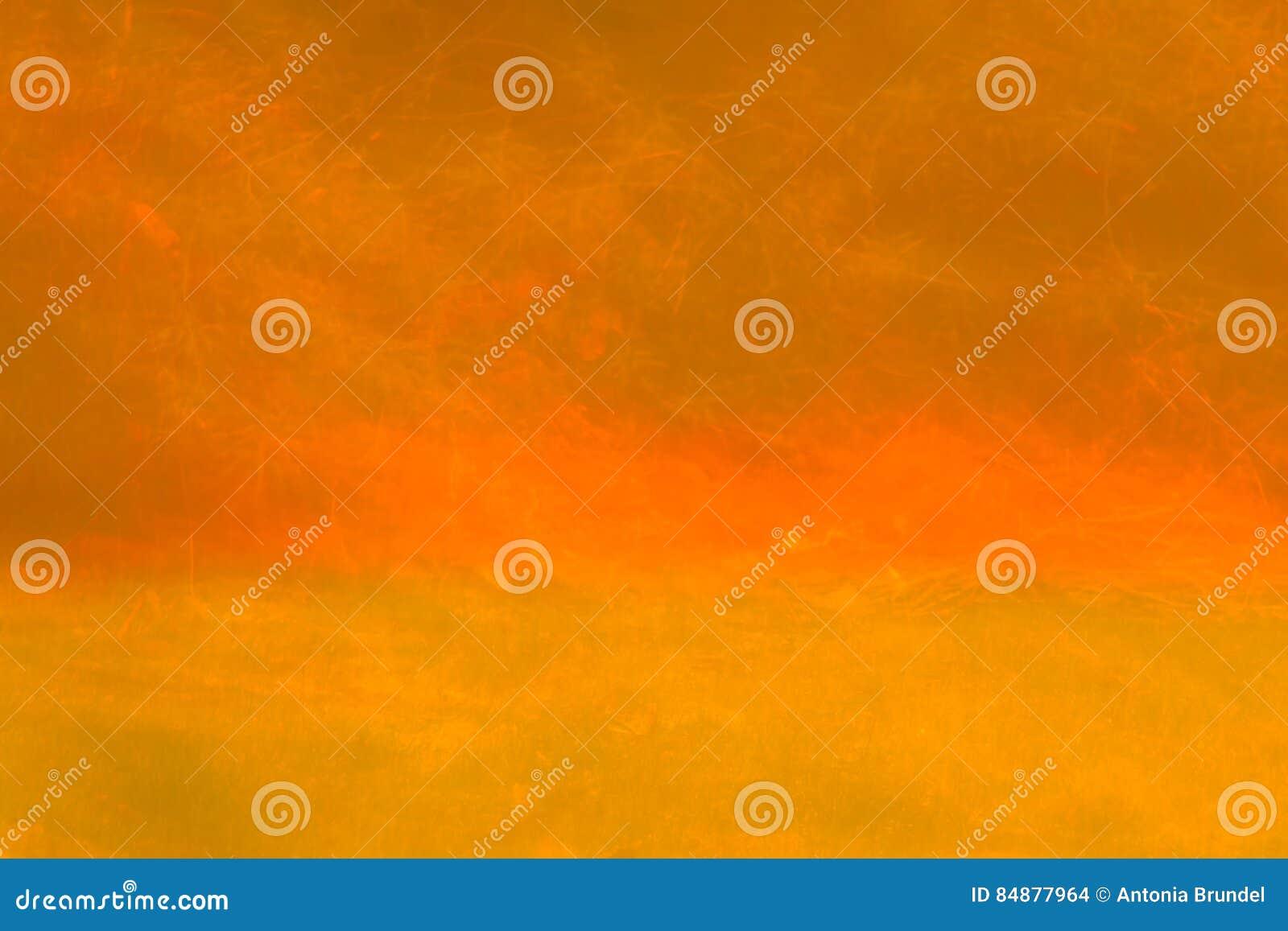Abstrakcjonistycznej sztuki pomarańczowy kolor tła wektora