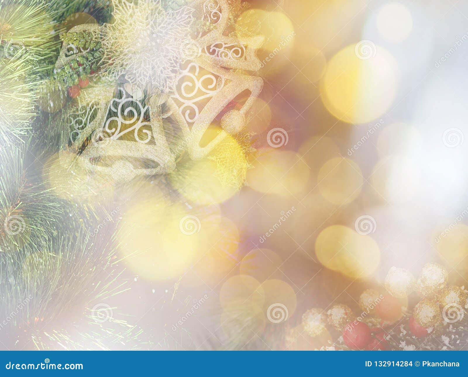 Abstrakcjonistyczni boże narodzenia i nowy rok miękkiej części stylu tło
