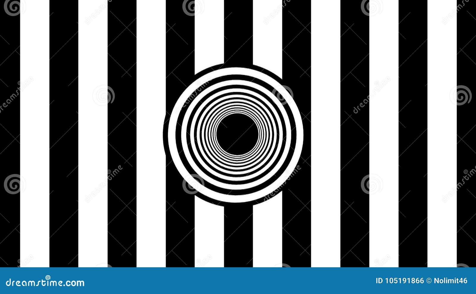Abstrakcjonistyczni czarny i biały lampasy świadczenia 3 d