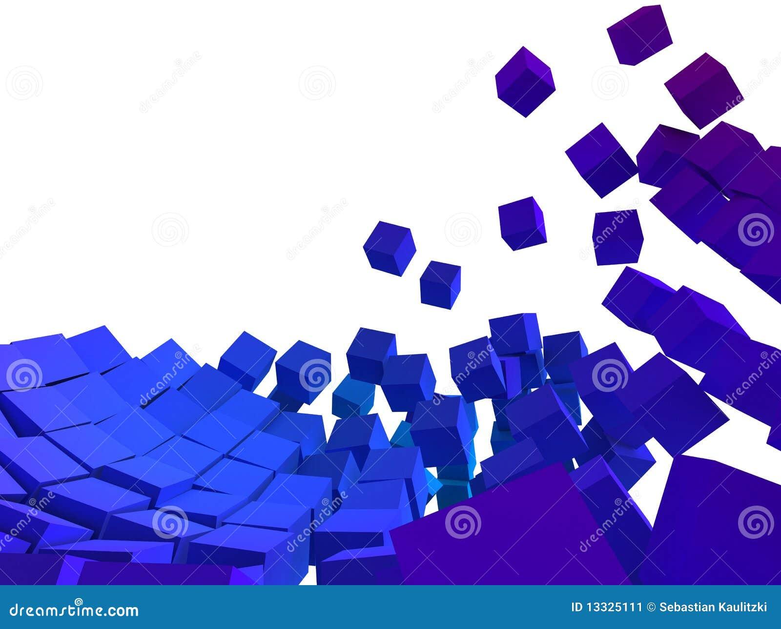 Abstrakcjonistyczni sześciany