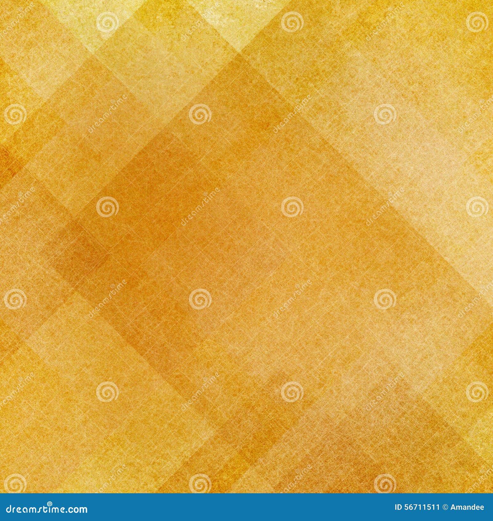 Abstrakcjonistyczni złociści tło kwadratów prostokąty i trójboki w geometrycznym deseniowym projekcie