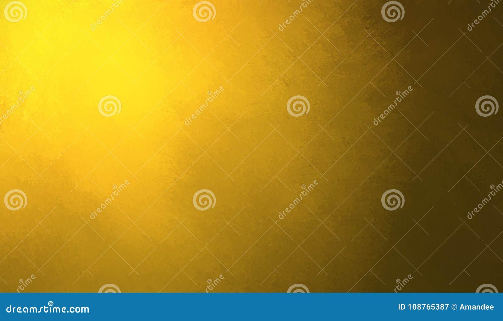 Abstrakcjonistyczny żółtego złota tła projekt, granica ciemnego koloru krawędzie czerni, słońca lub światła słonecznego światło r