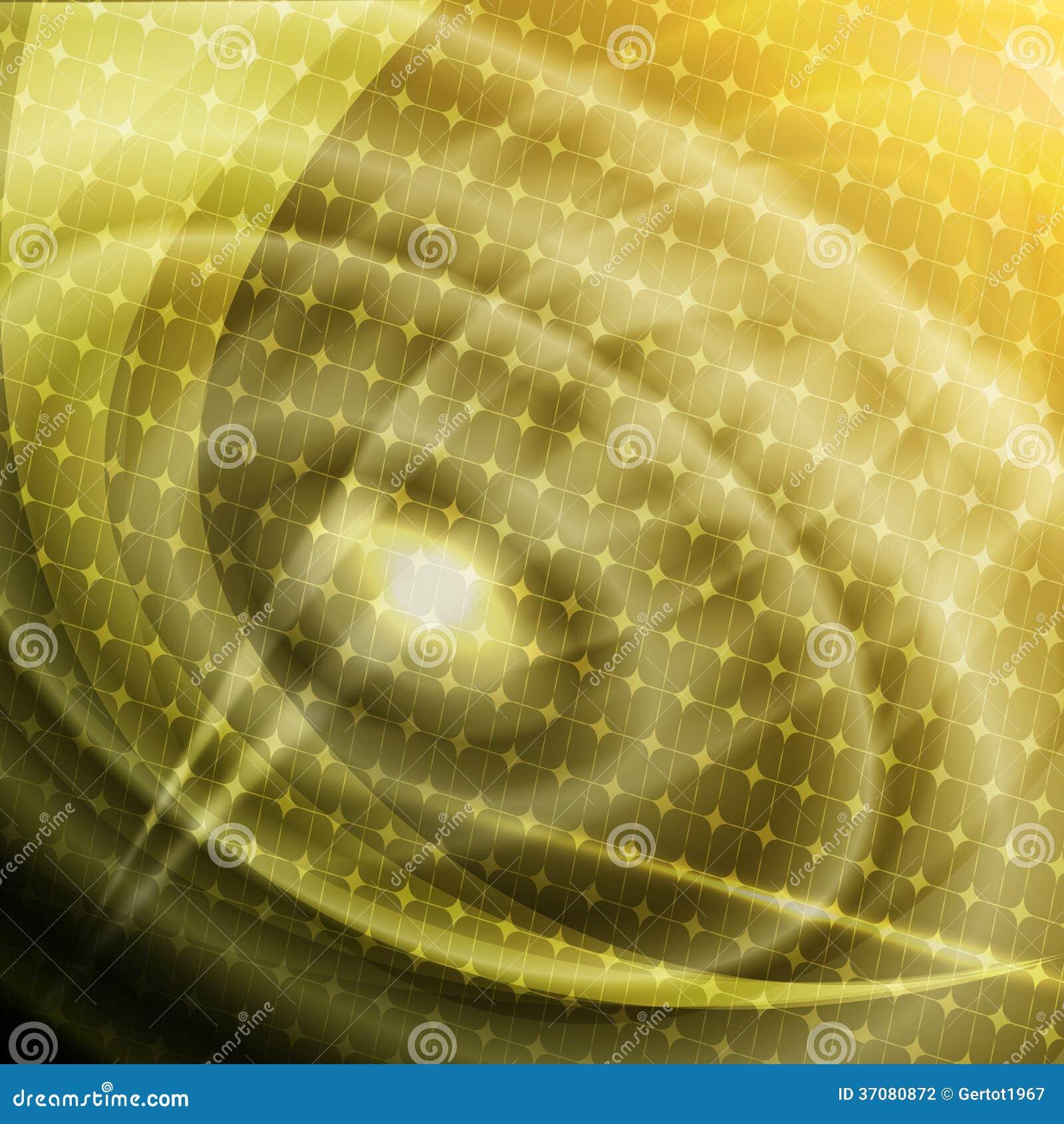 Download Abstrakcjonistyczny żółty Tło Ilustracji - Ilustracja złożonej z arte, wzór: 37080872