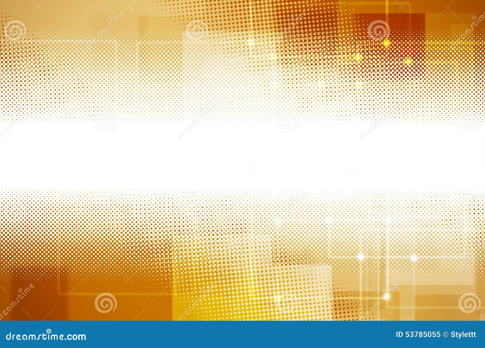 Abstrakcjonistyczny żółty techniki tło