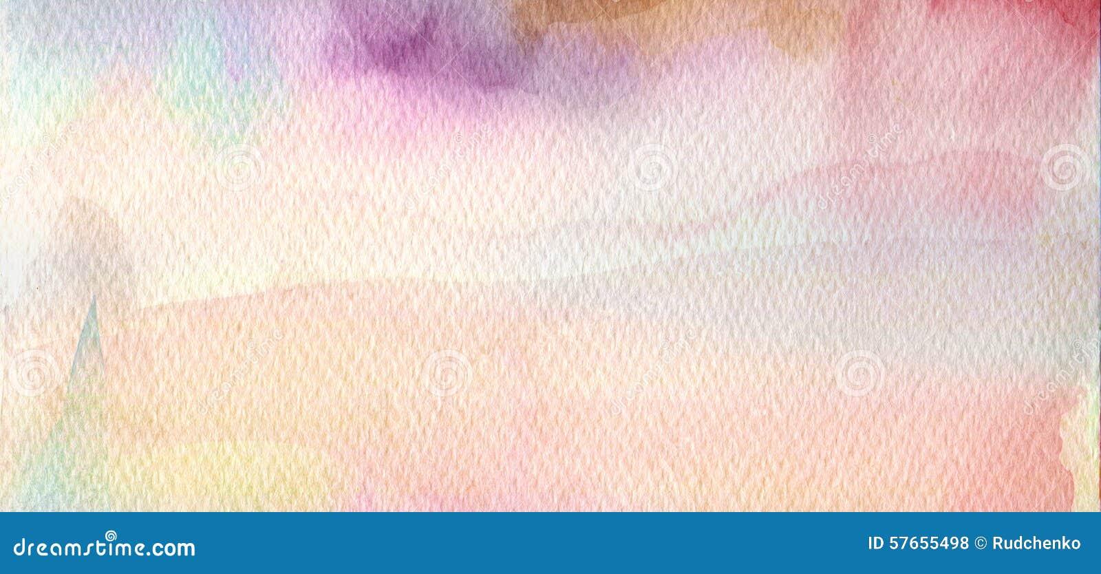 Abstrakcjonistyczny akrylowy i akwarela malujący tło