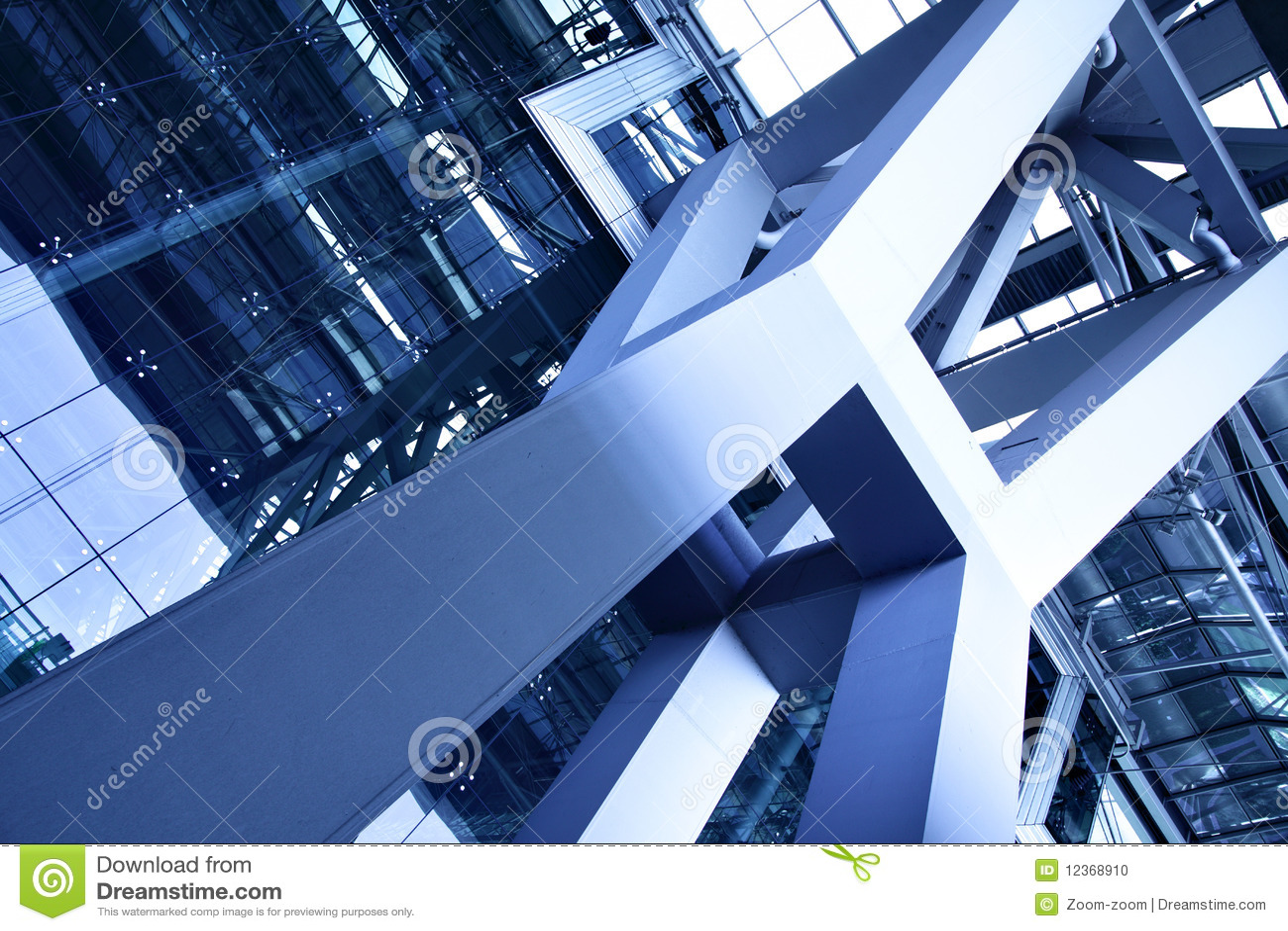Abstrakcjonistyczny architektoniczny szczegół