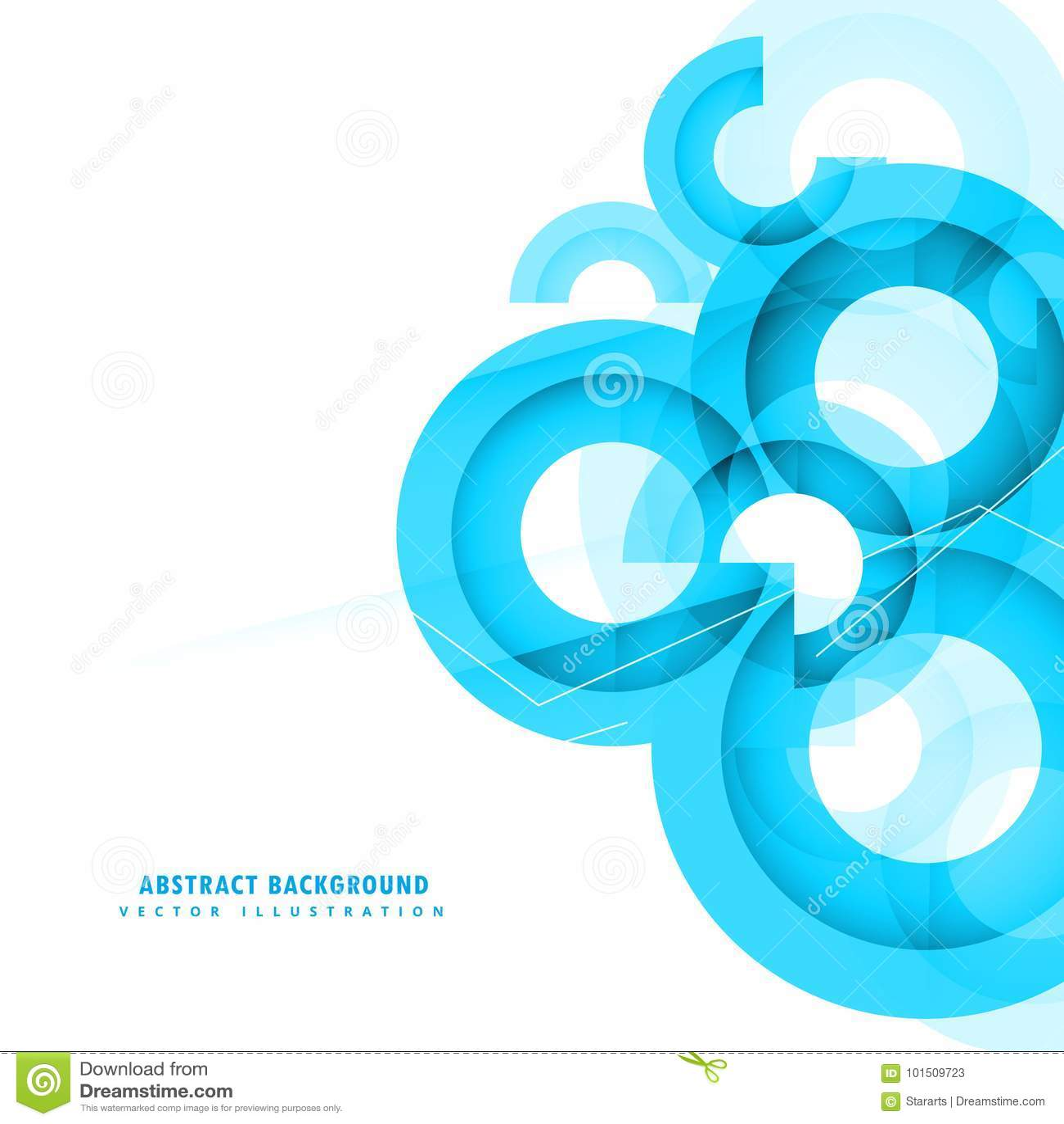Abstrakcjonistyczny błękit okrąża tło projekt