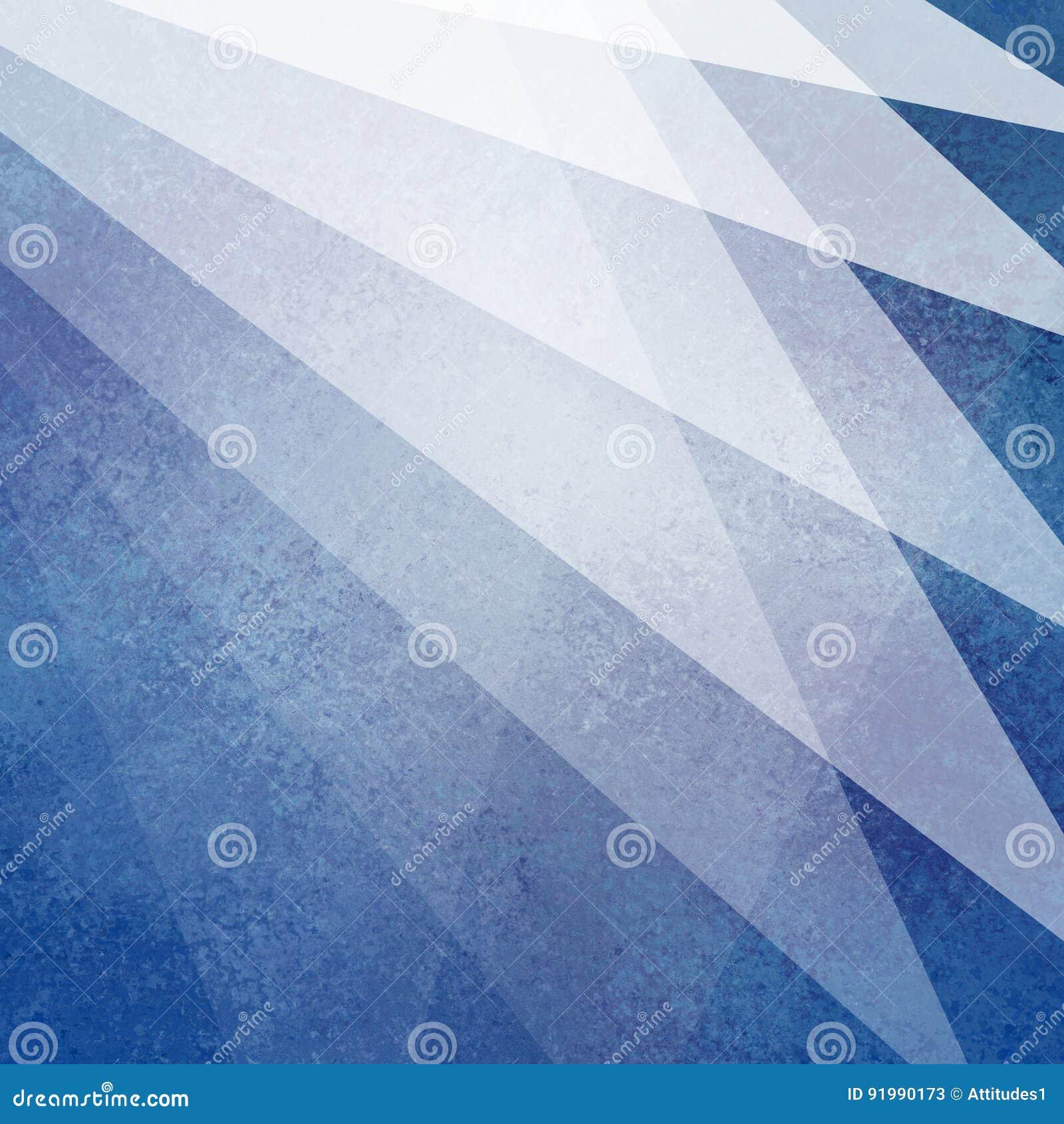 Abstrakcjonistyczny błękitny i biały tło projekt z lekkimi przejrzystymi materiał warstwami z słabo teksturą w geometrycznym fan