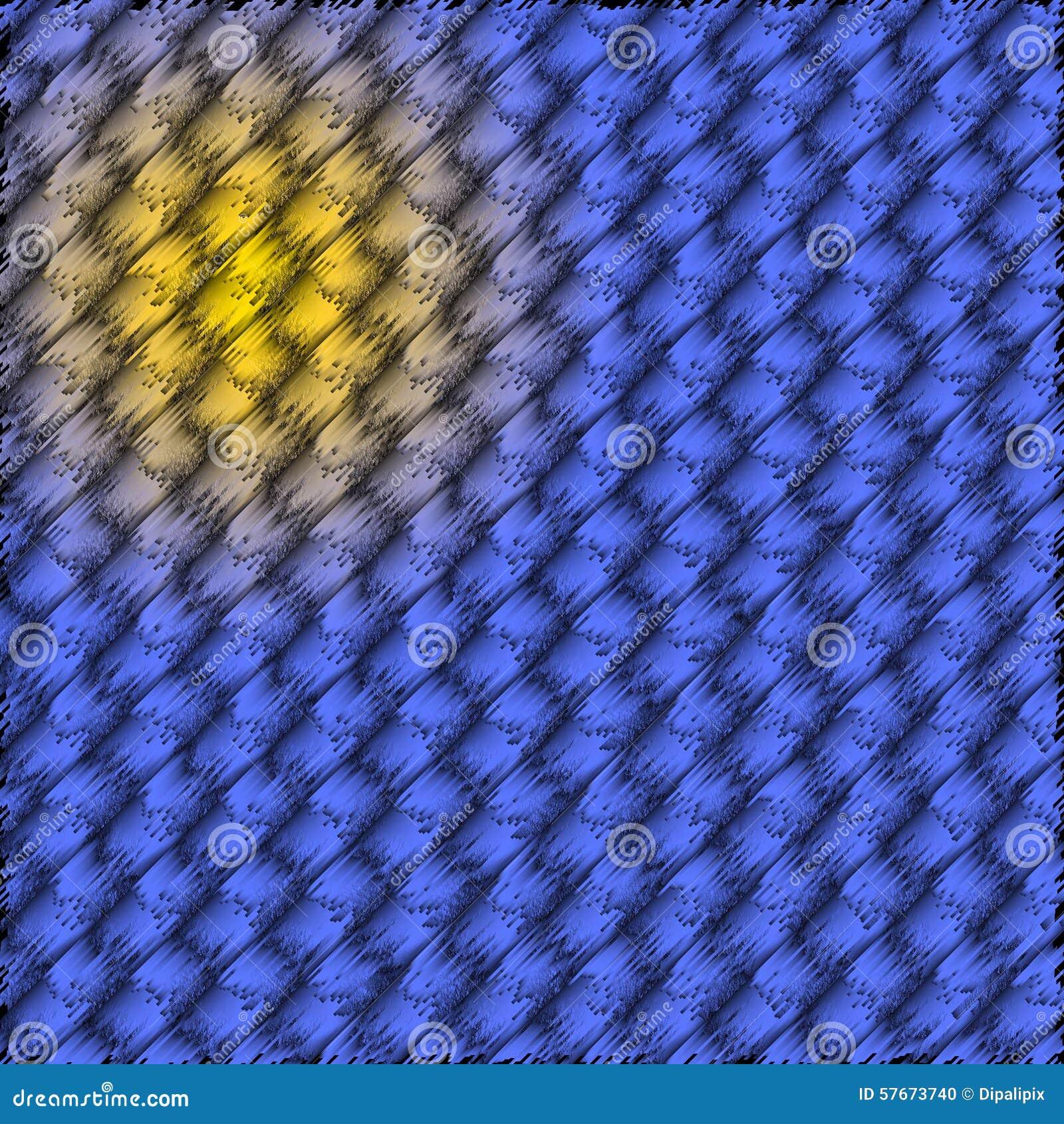 Abstrakcjonistyczny błękitny kolor żółty