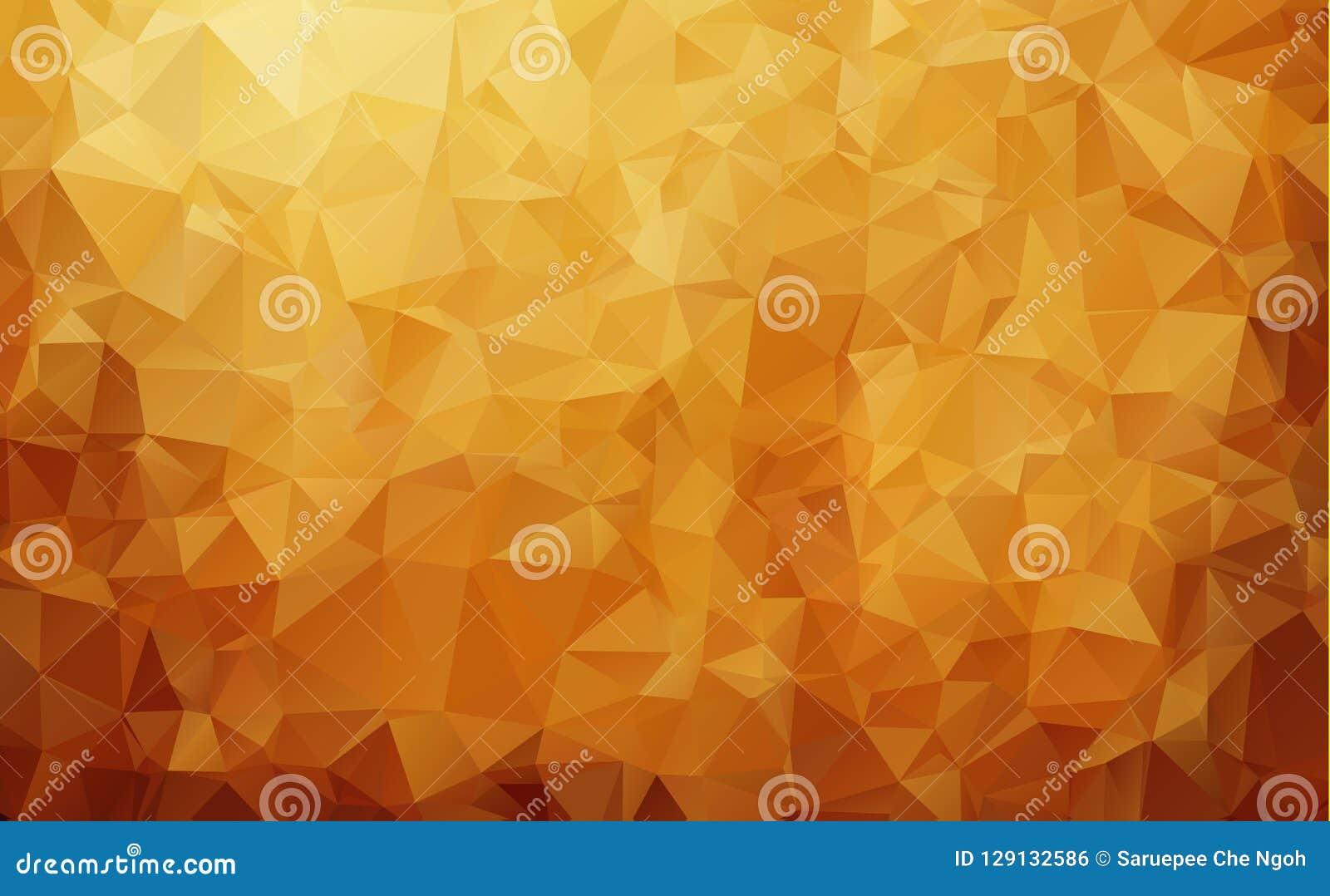 Abstrakcjonistyczny Ciemnego brązu trójboka mozaiki tło Kreatywnie geometryczna ilustracja w Origami stylu z gradientem Szablon m