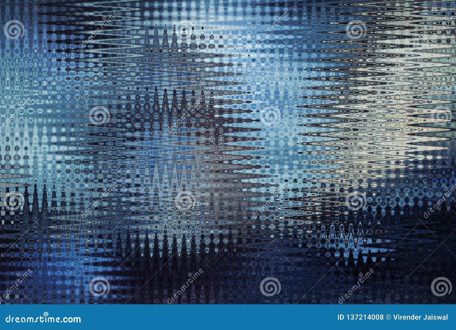 Abstrakcjonistyczny falowy wzór dla tła