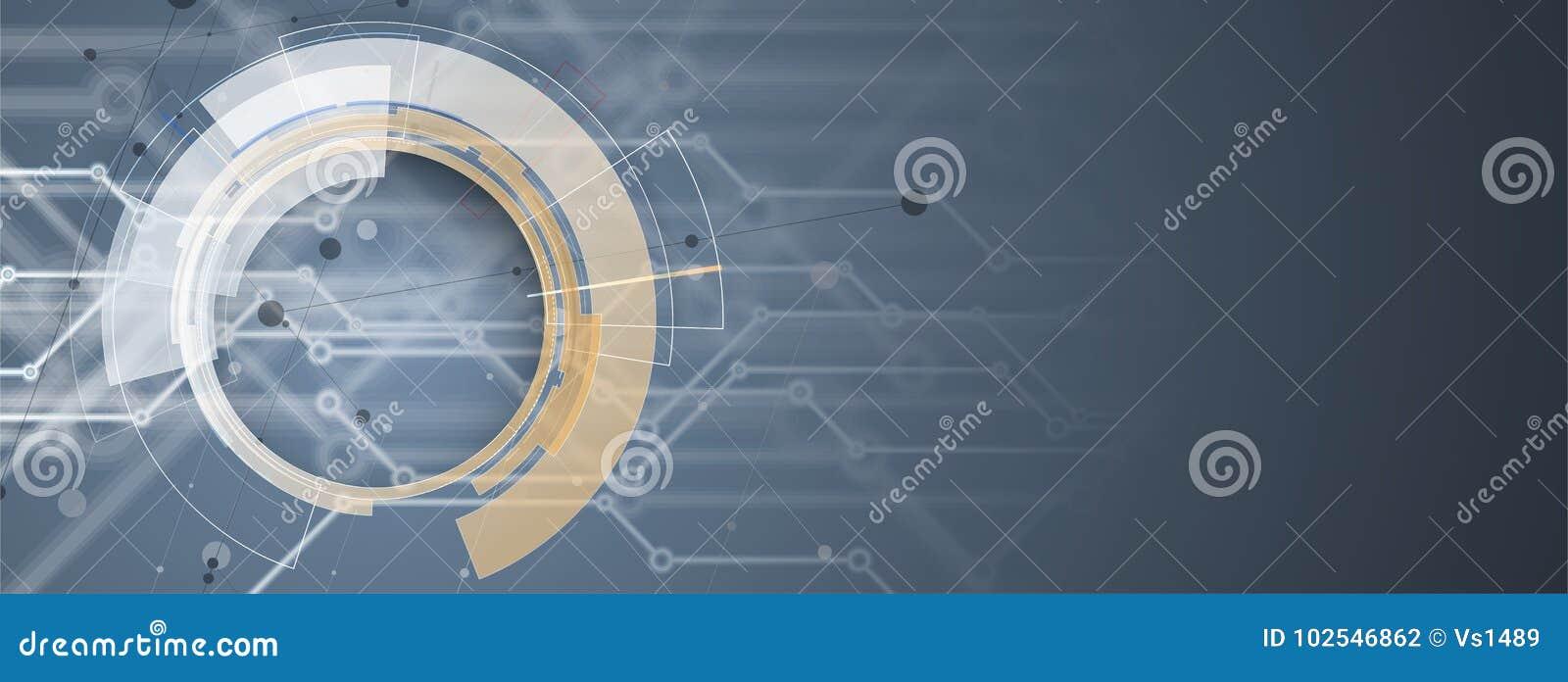 Abstrakcjonistyczny futurystyczny informatyka biznesu tło