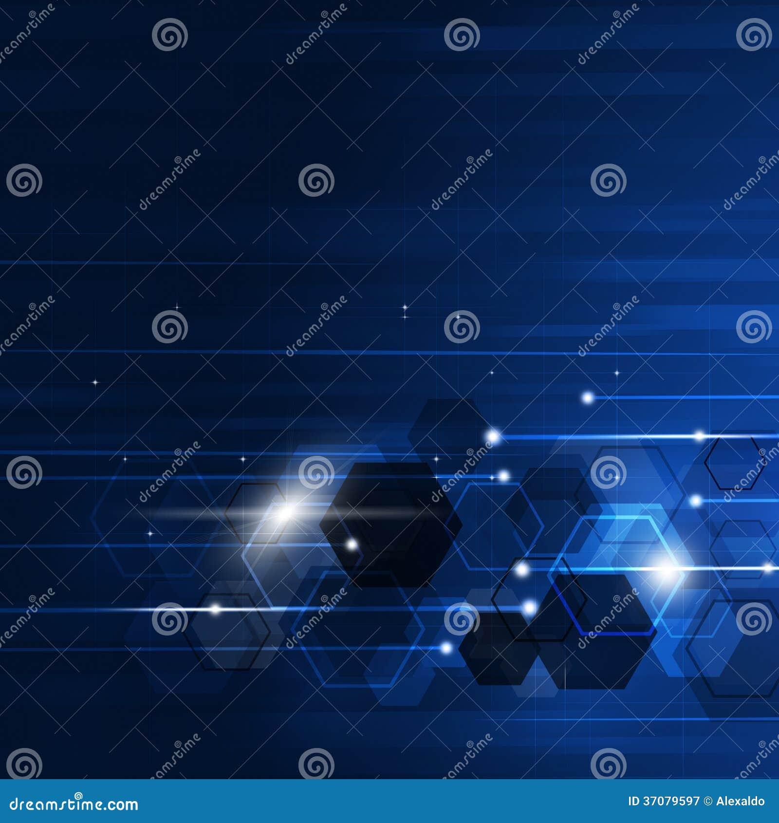 Download Abstrakcjonistyczny Geometryczny Błękitny Tło Ilustracji - Ilustracja złożonej z rozrywka, związek: 37079597