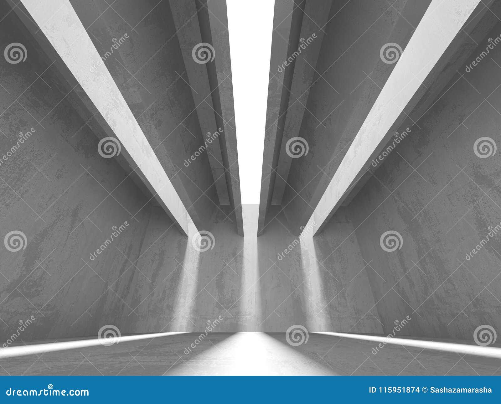 Abstrakcjonistyczny geometryczny betonowy architektury tło