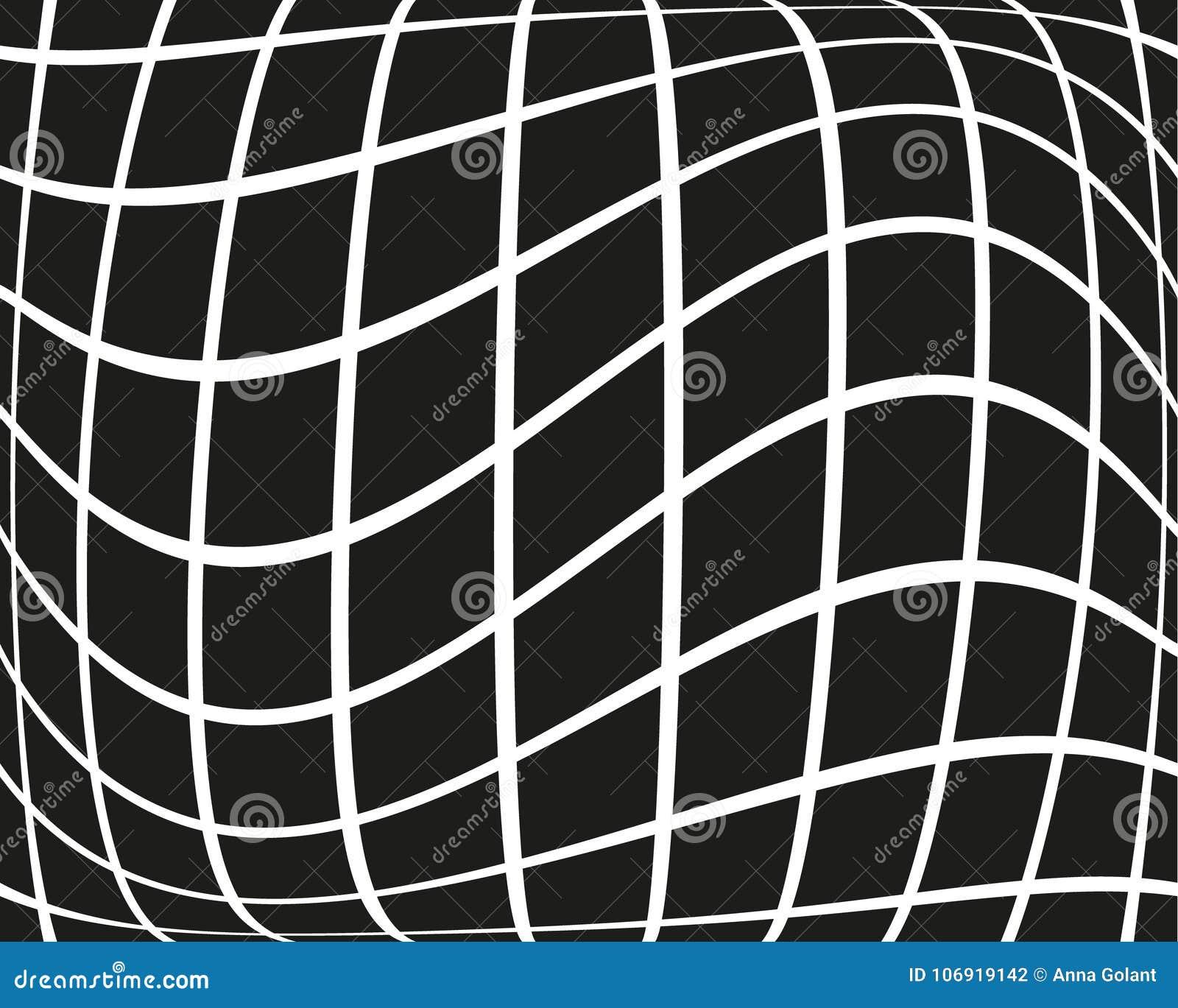 Abstrakcjonistyczny geometryczny wzór z małymi kwadratami