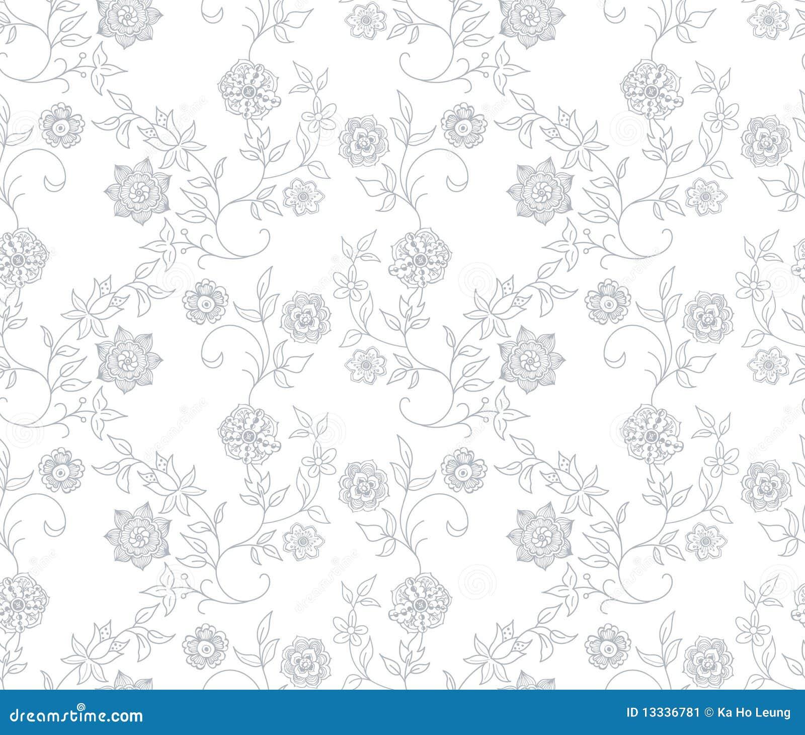Abstrakcjonistyczny kwiecisty deseniowy bezszwowy