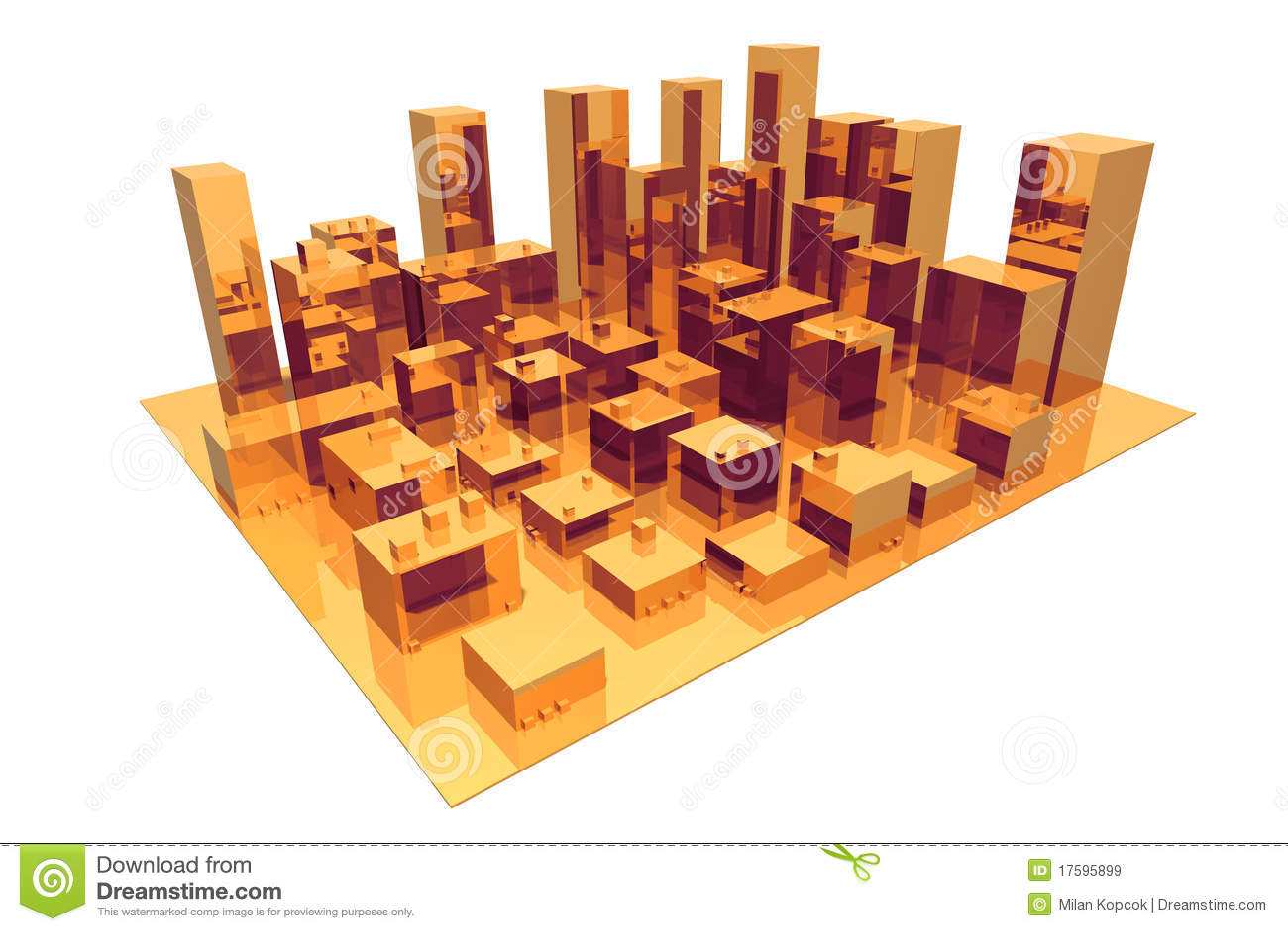 Abstrakcjonistyczny miasto