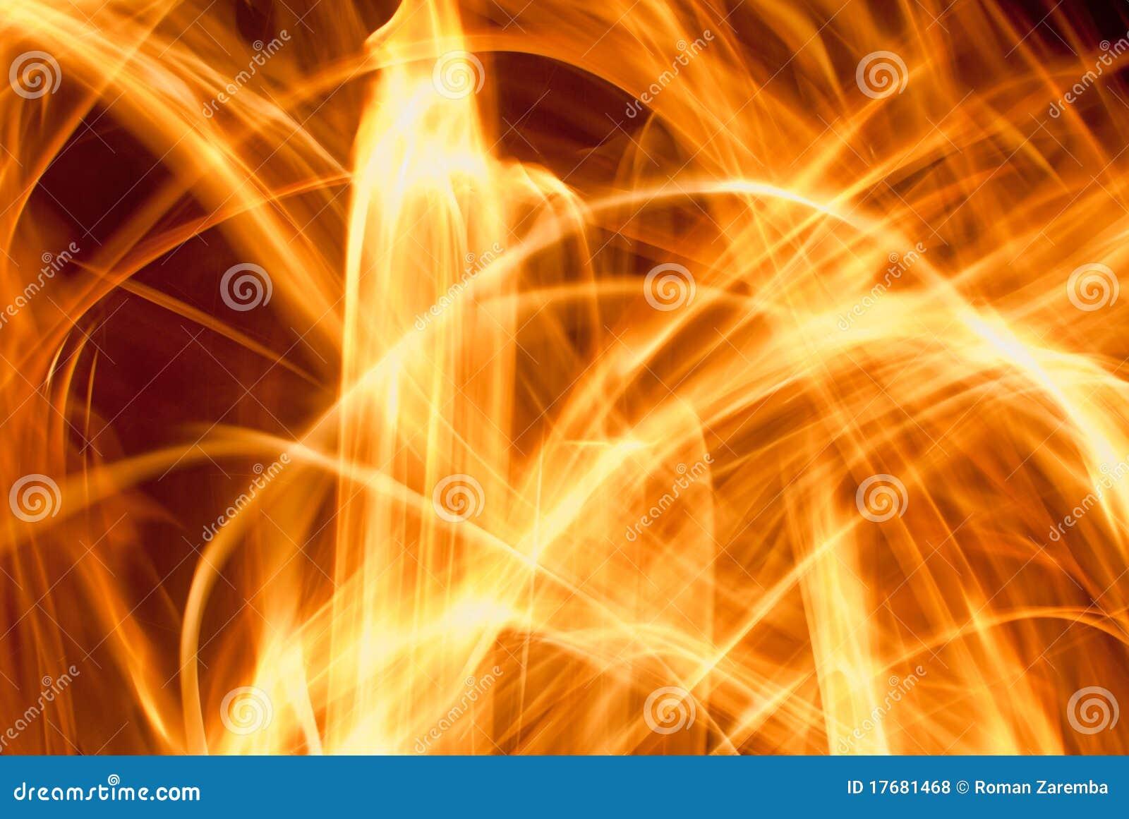 Abstrakcjonistyczny ogień