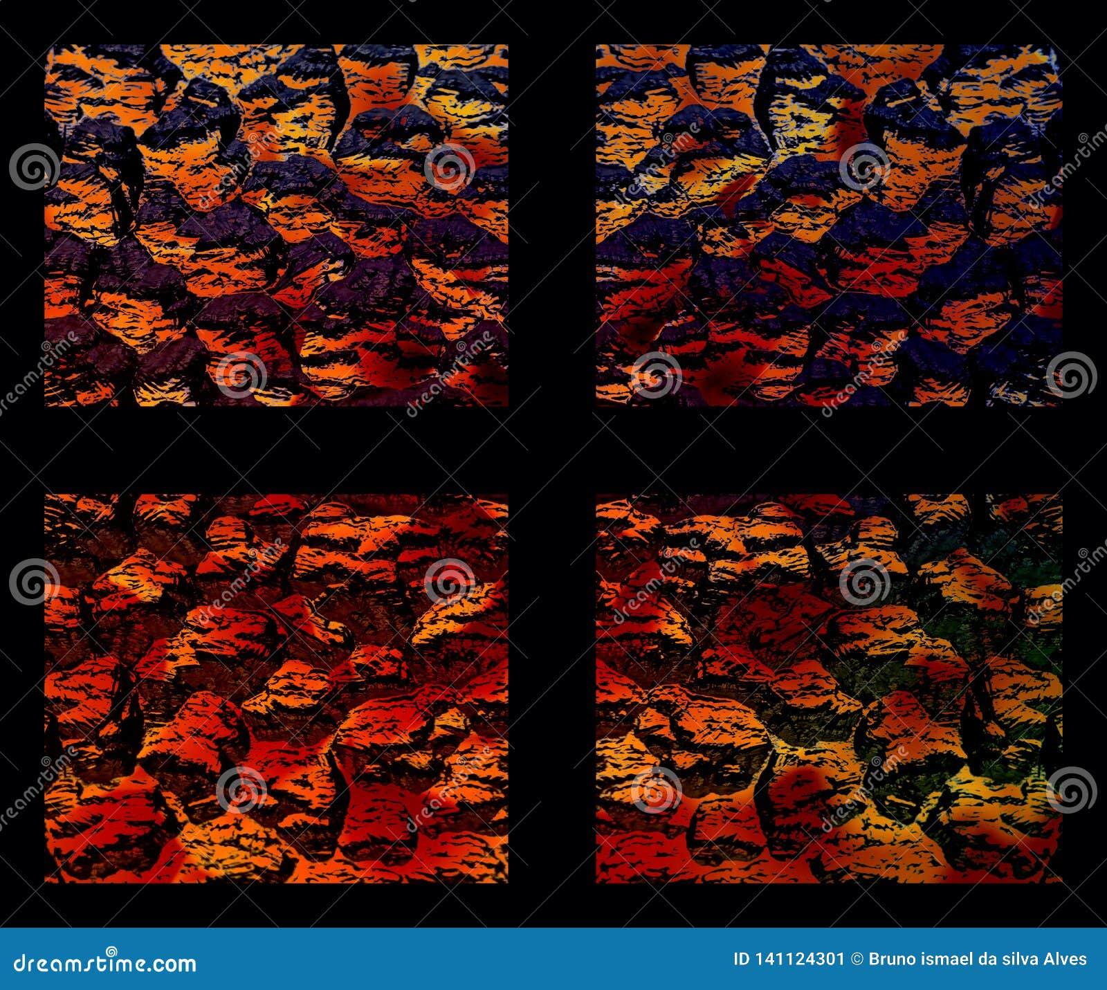 Abstrakcjonistyczny okno światło