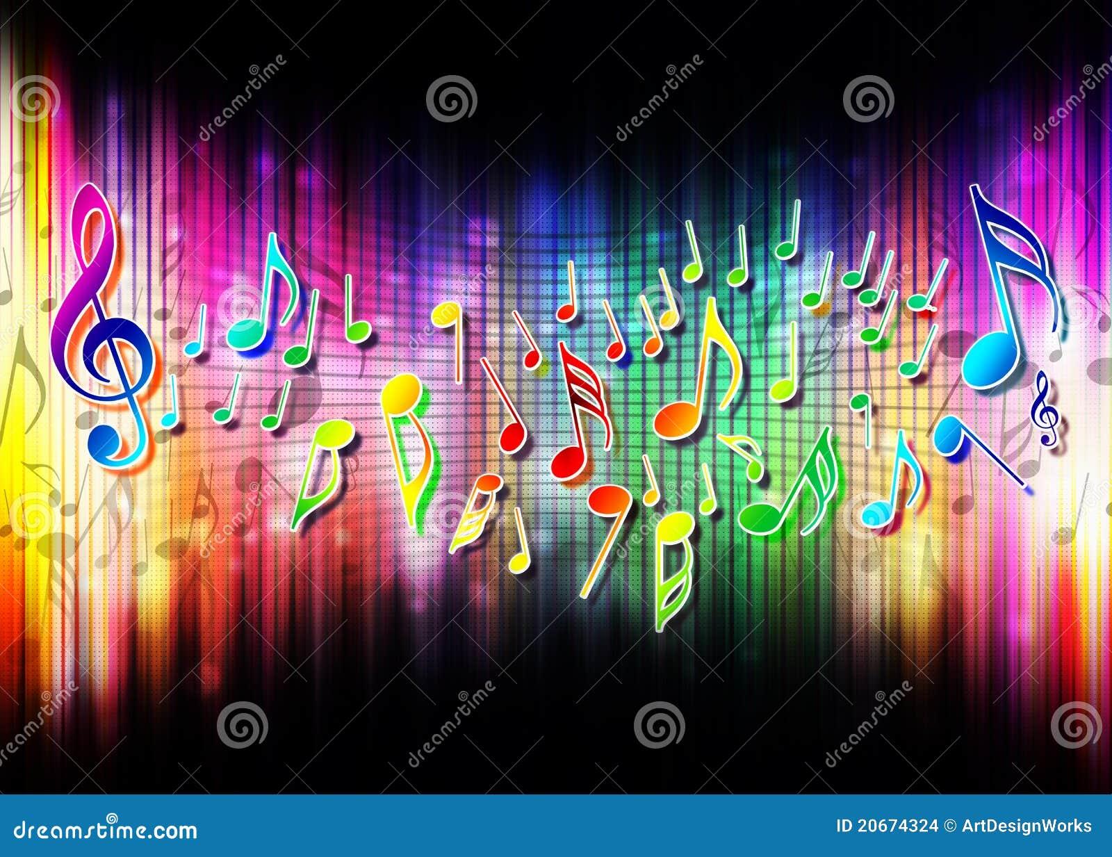Abstrakcjonistyczny podkład muzyczny