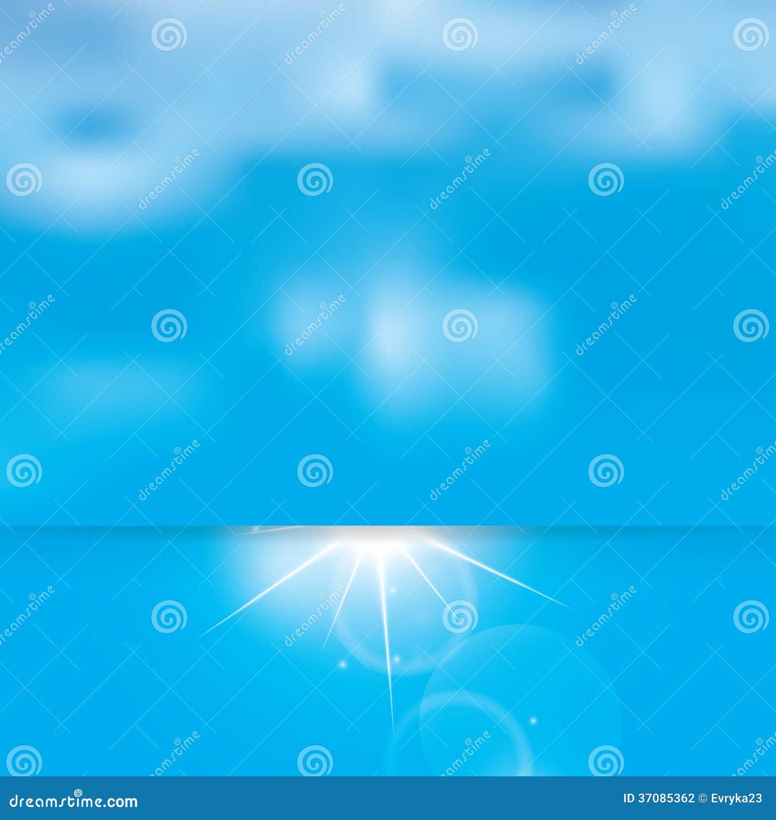 Download Abstrakcjonistyczny Pogodny Niebo I Chmury Ilustracja Wektor - Ilustracja złożonej z kopia, druk: 37085362
