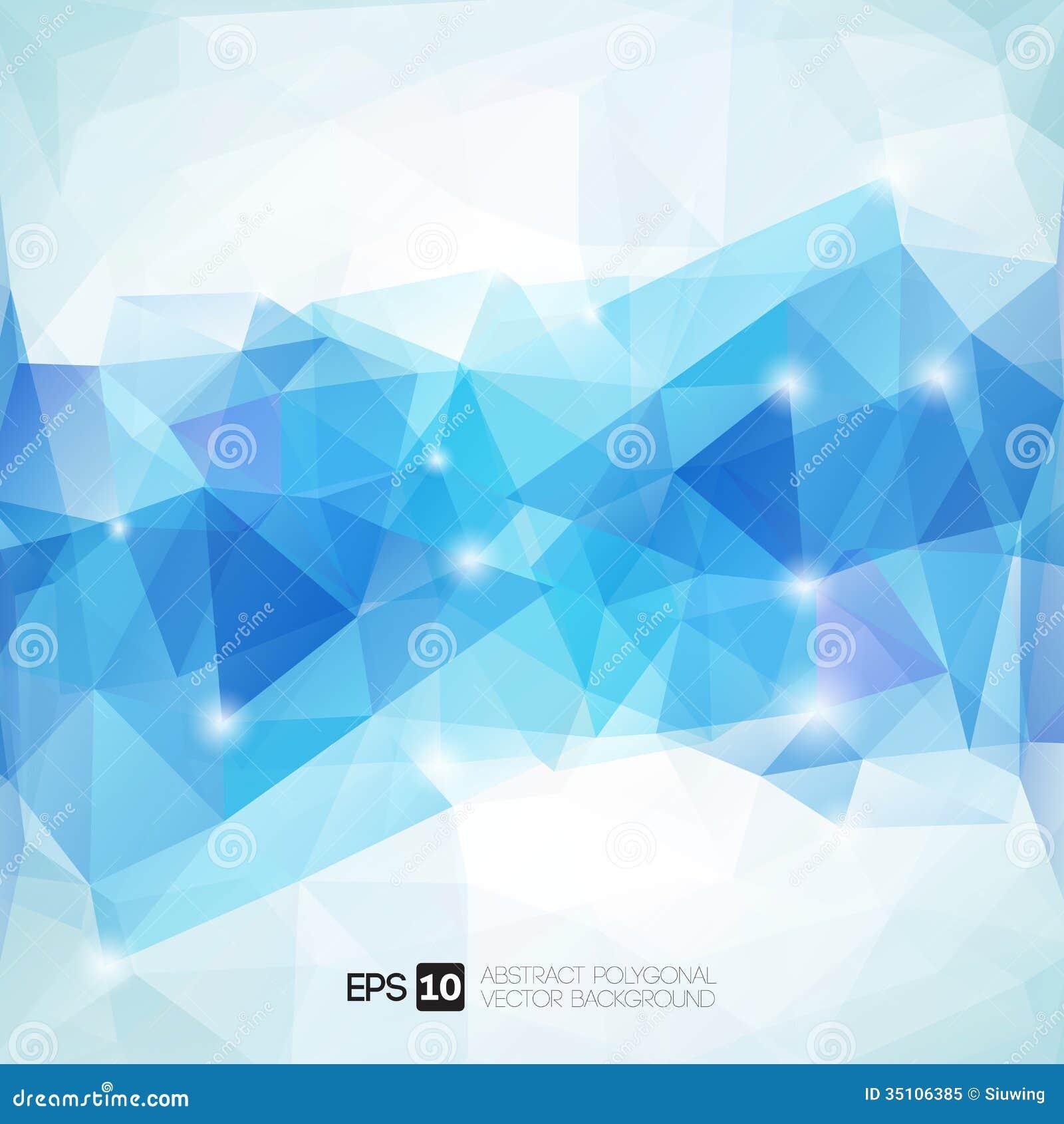 Abstrakcjonistyczny poligonalny geometryczny tło