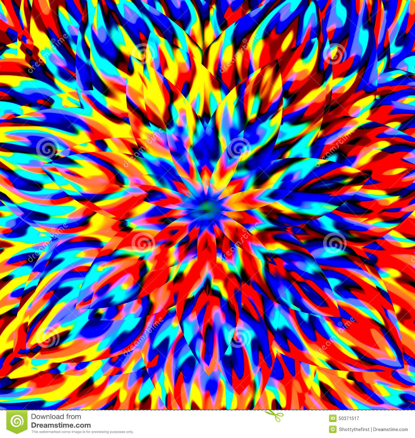 Abstrakcjonistyczny Sztuczny komputer Wytwarzający Iteratywny płomienia tło