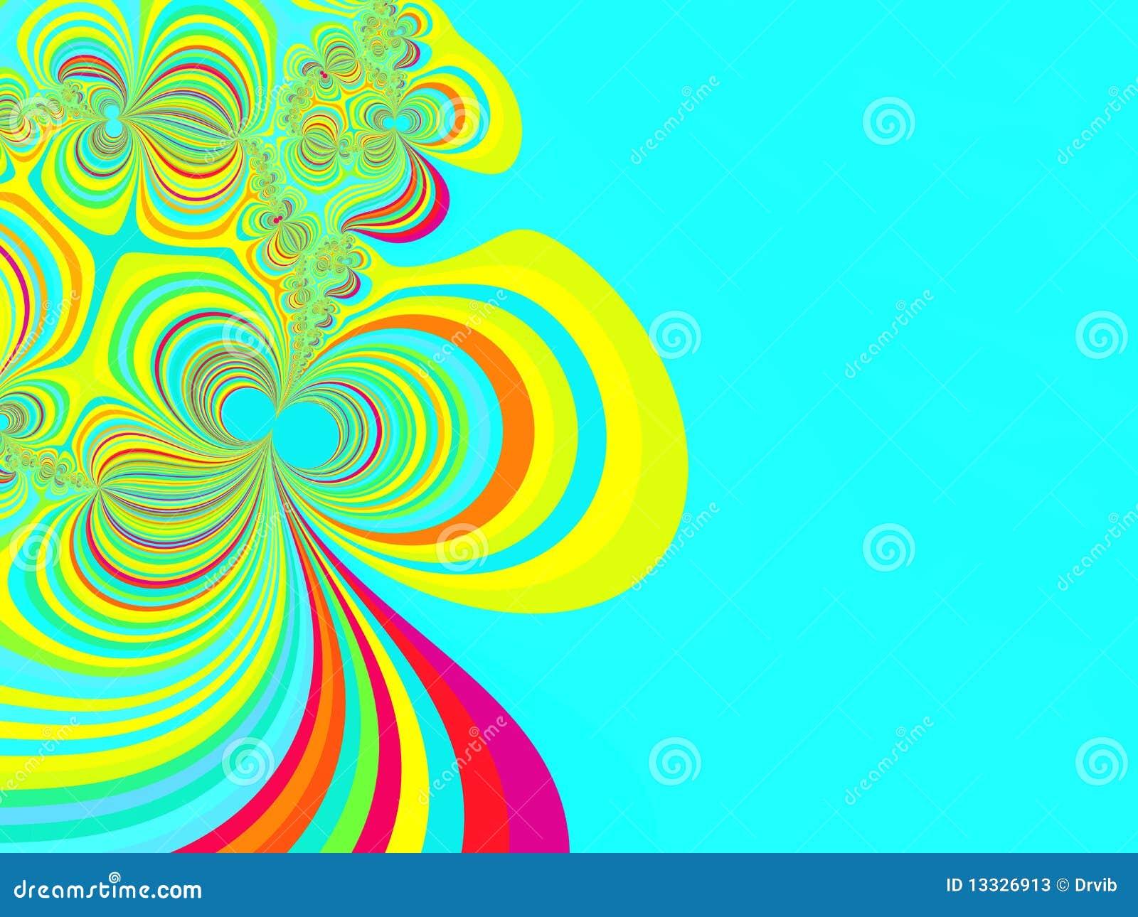 Abstrakcjonistyczny tła bazy fractal