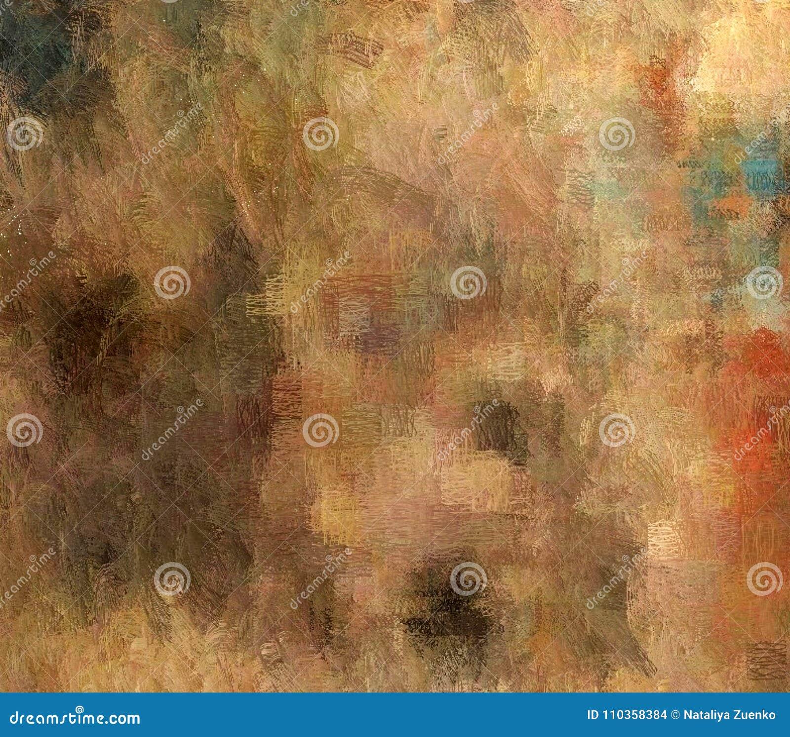 Abstrakcjonistyczny tło barwiona grunge tekstura zamazana farba maże plamy