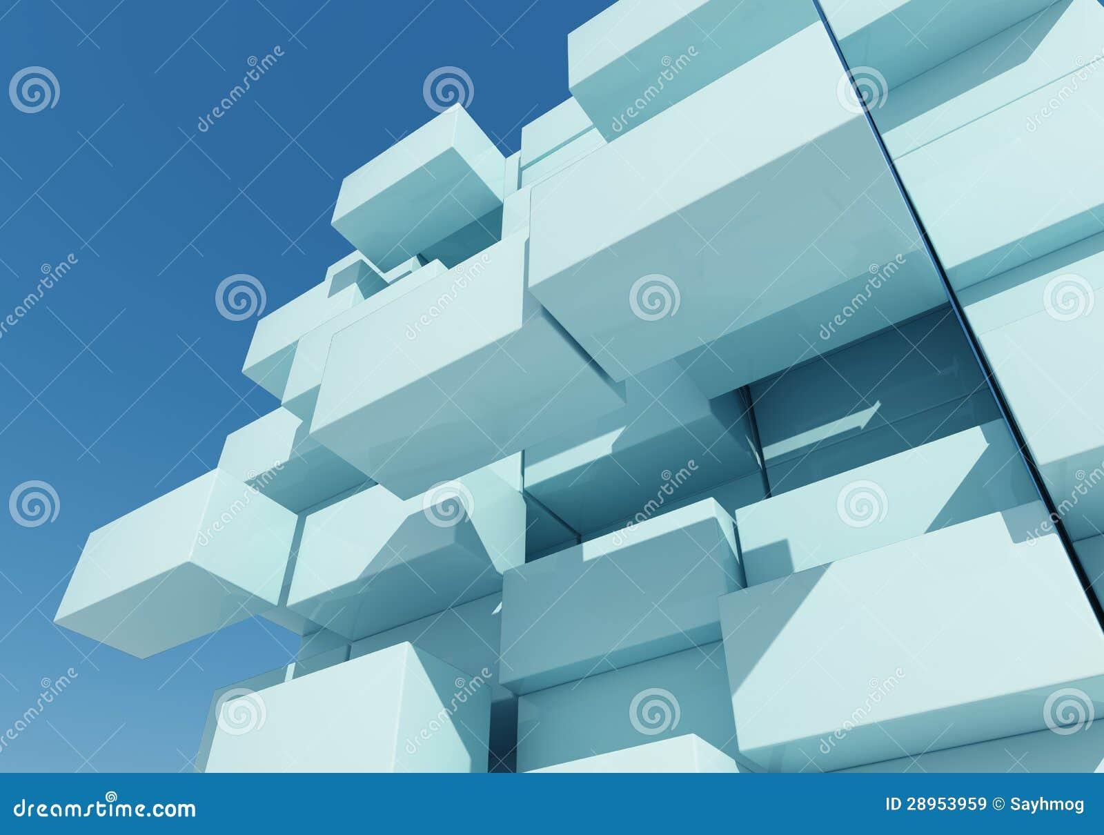 Abstrakcjonistyczny tło pudełko pławik
