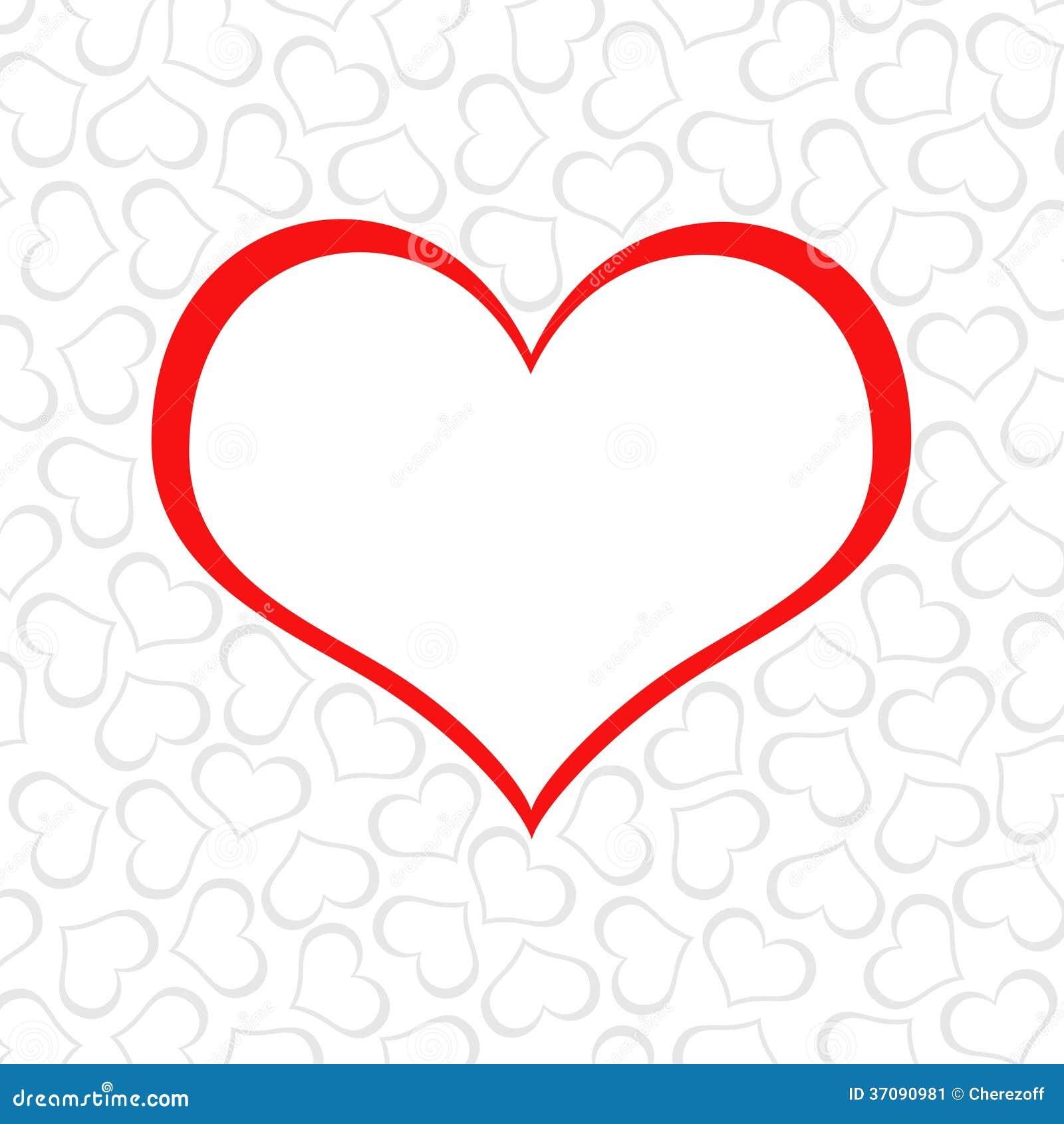 Download Abstrakcjonistyczny Tło Serca Ilustracji - Ilustracja złożonej z wzór, heart: 37090981