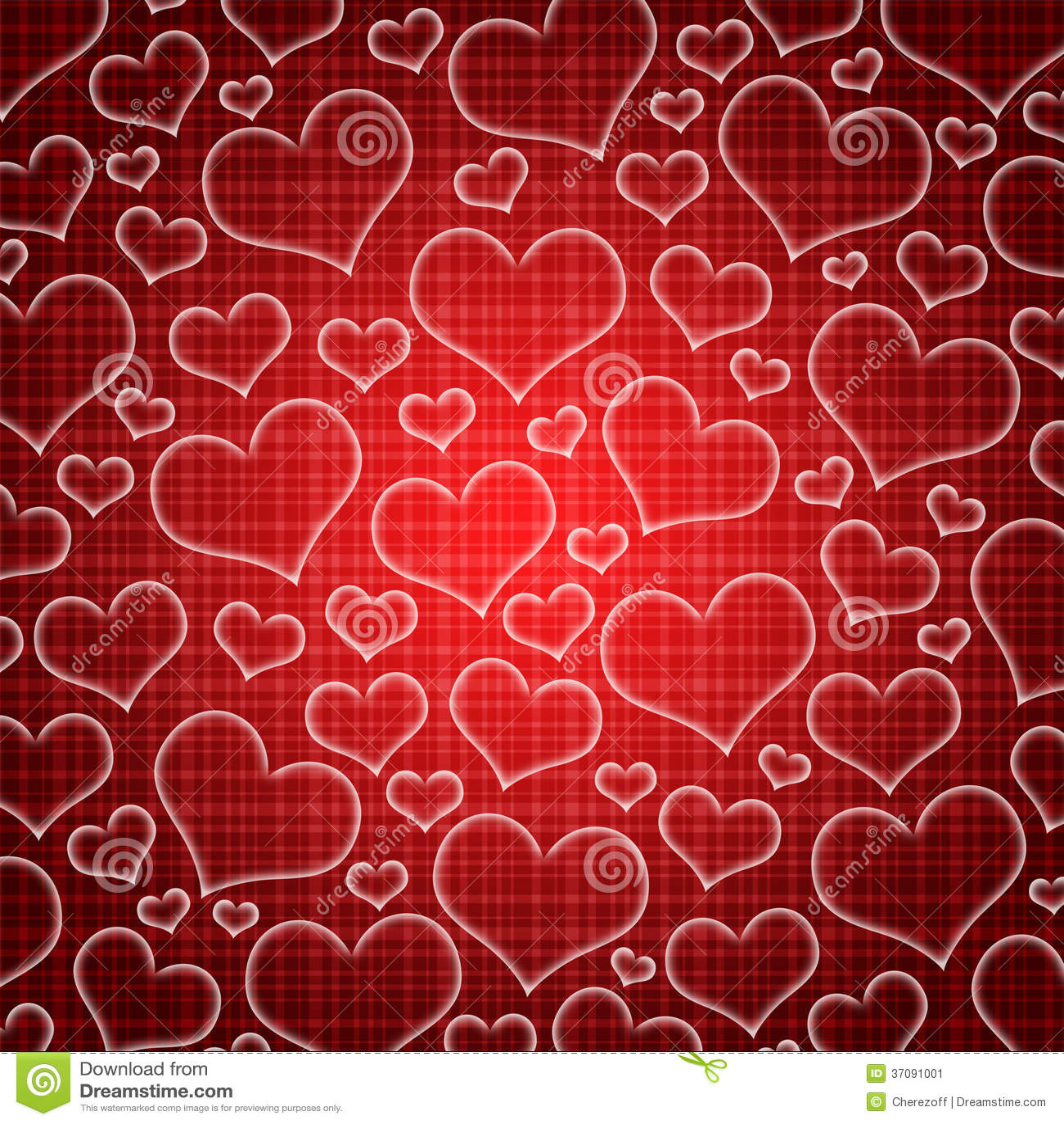 Download Abstrakcjonistyczny Tło Serca Ilustracji - Ilustracja złożonej z heart, dekoruje: 37091001