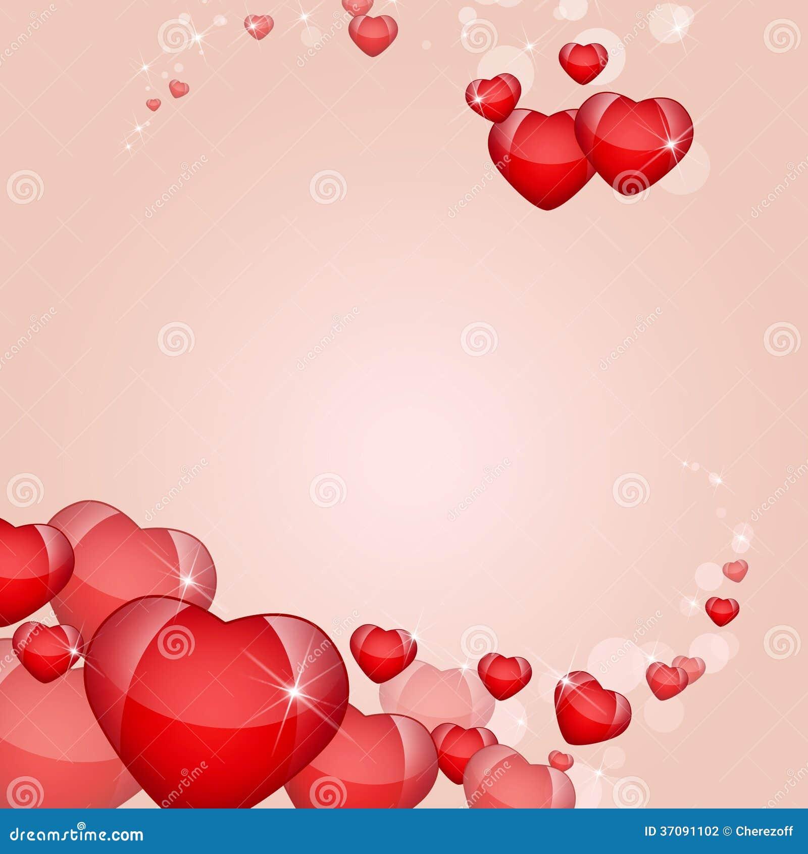 Download Abstrakcjonistyczny Tło Serca Ilustracji - Ilustracja złożonej z romans, miłość: 37091102