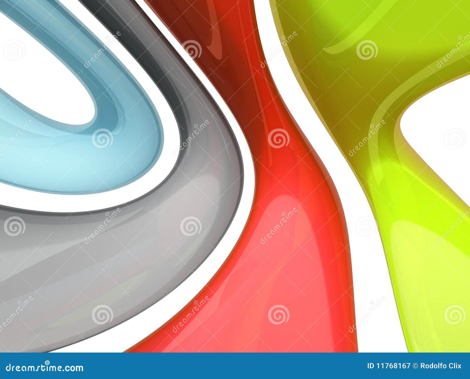 Abstrakcjonistyczny target940_0_ kolorów
