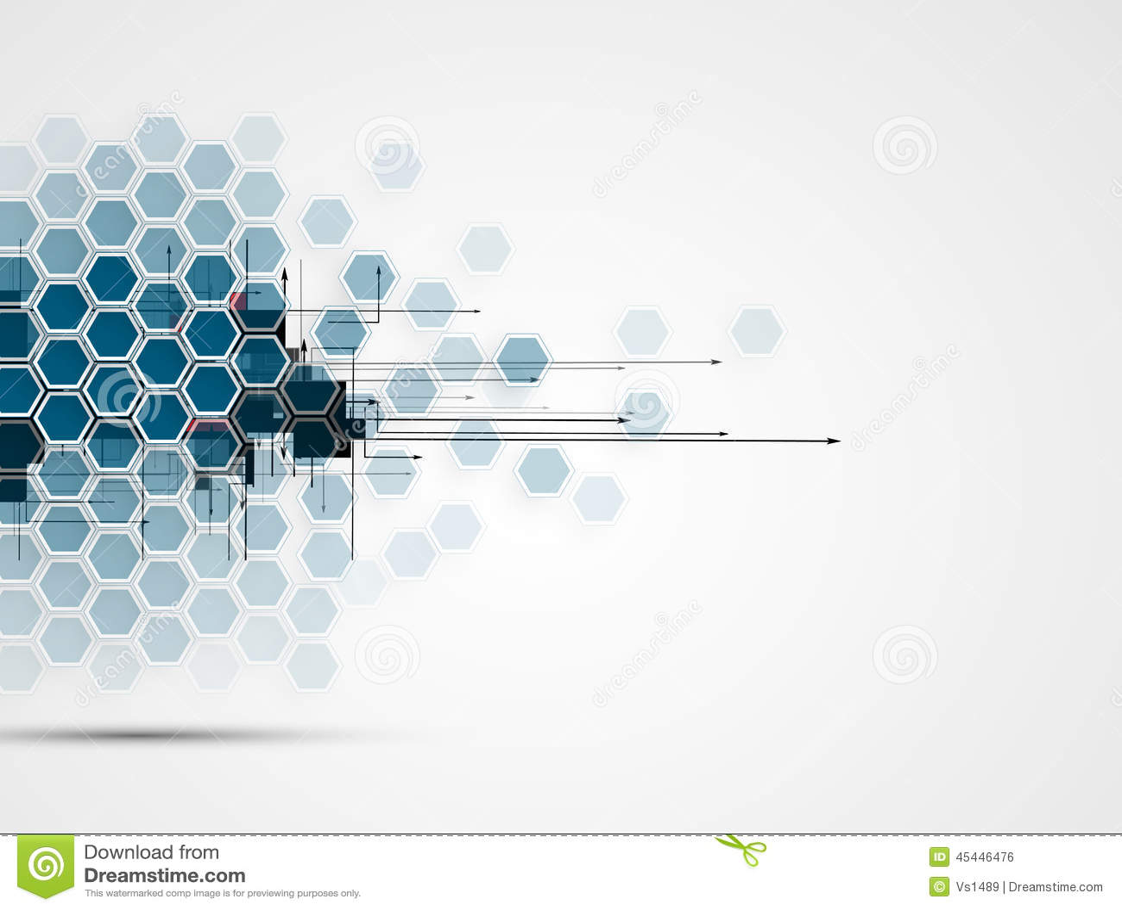 Abstrakcjonistyczny technologii tła biznes & rozwój