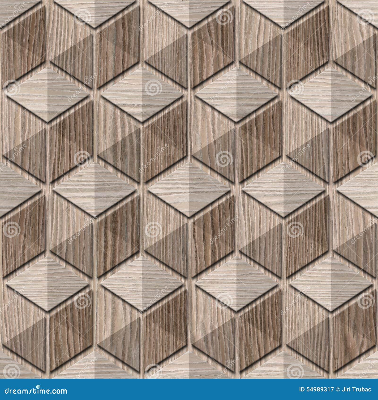 Abstrakcjonistyczny w kratkę wzór Wysadzający dąb - bezszwowy tło -