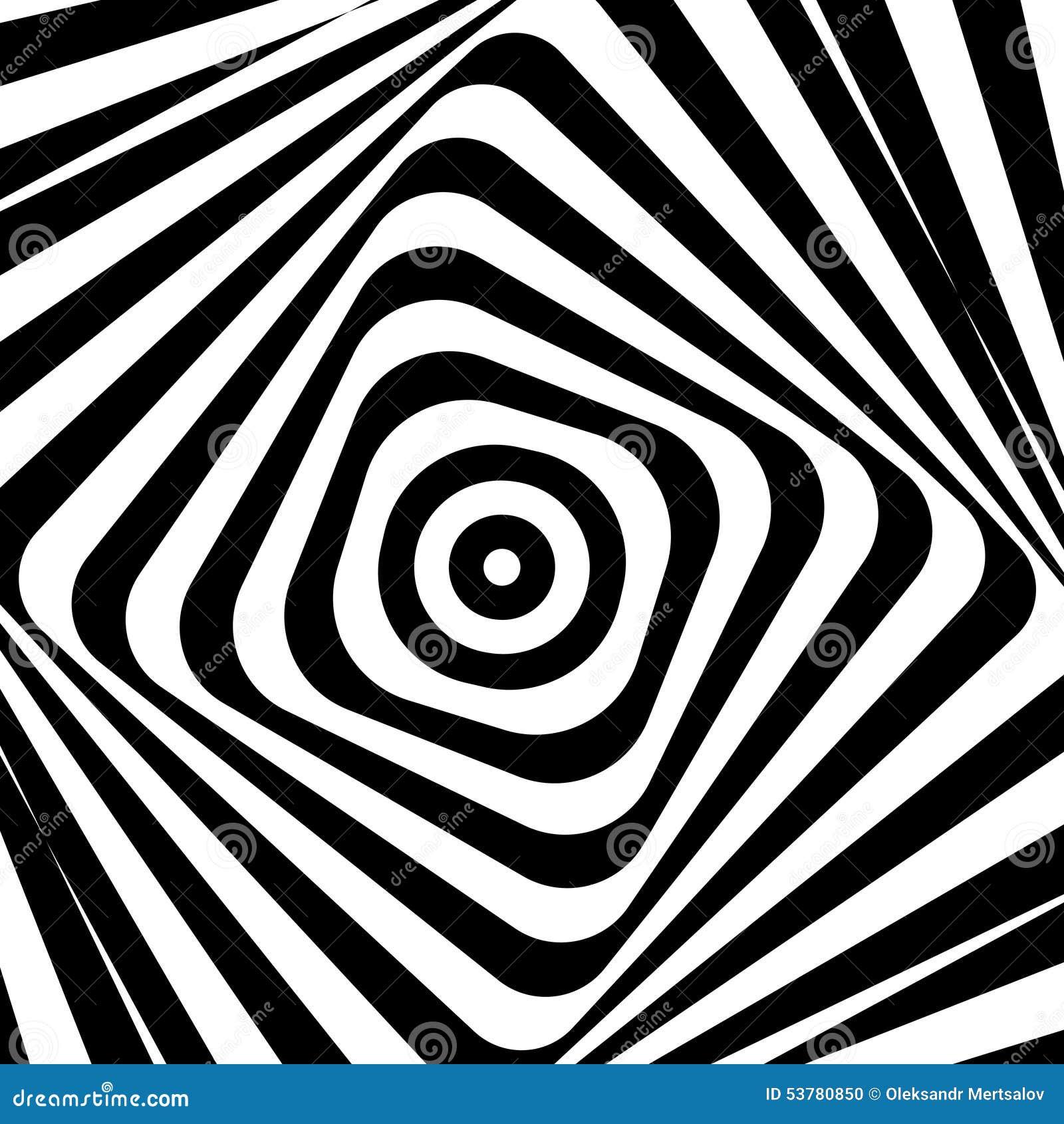 Abstrakcjonistyczny Wektorowy ilustracyjny psychiczny tło