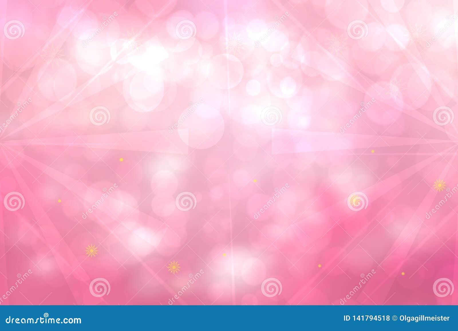 Abstrakcjonistycznych fractal menchii tła biała elegancka tekstura z promieniami i gwiazdami światło Rzadkopłynna turbulencji i g